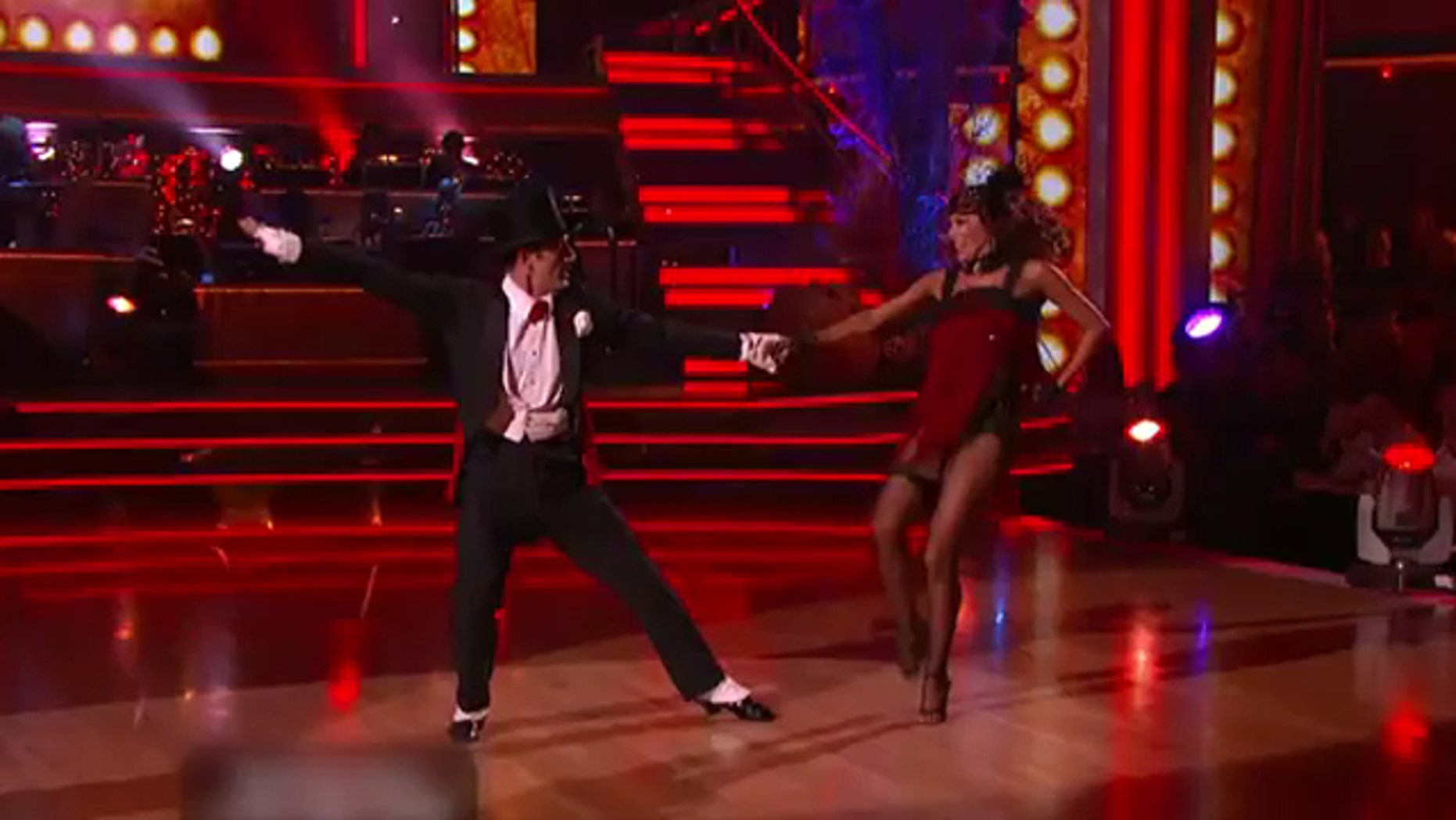 Oct. 31, 2011: Actor David Arquette performs on Dancing With the Stars Monday night.