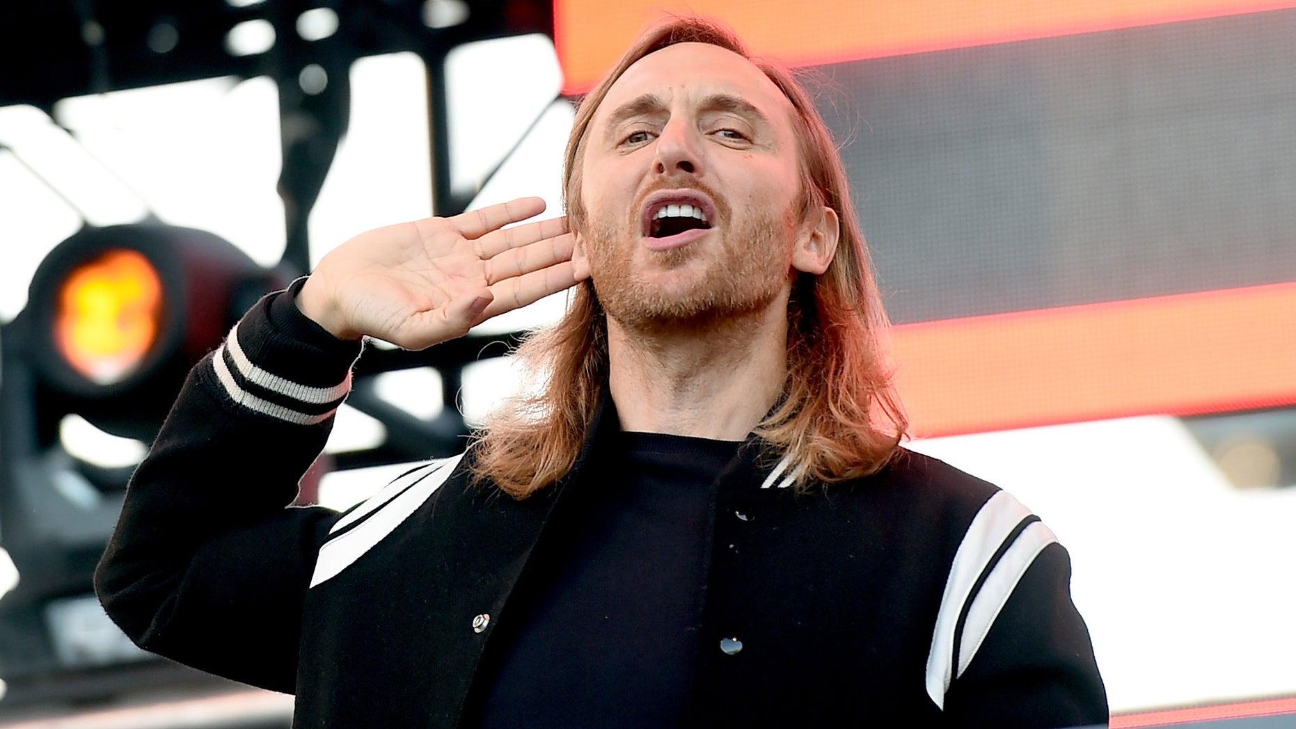 DJ David Guetta on May 9, 2015 in Los Angeles, California.