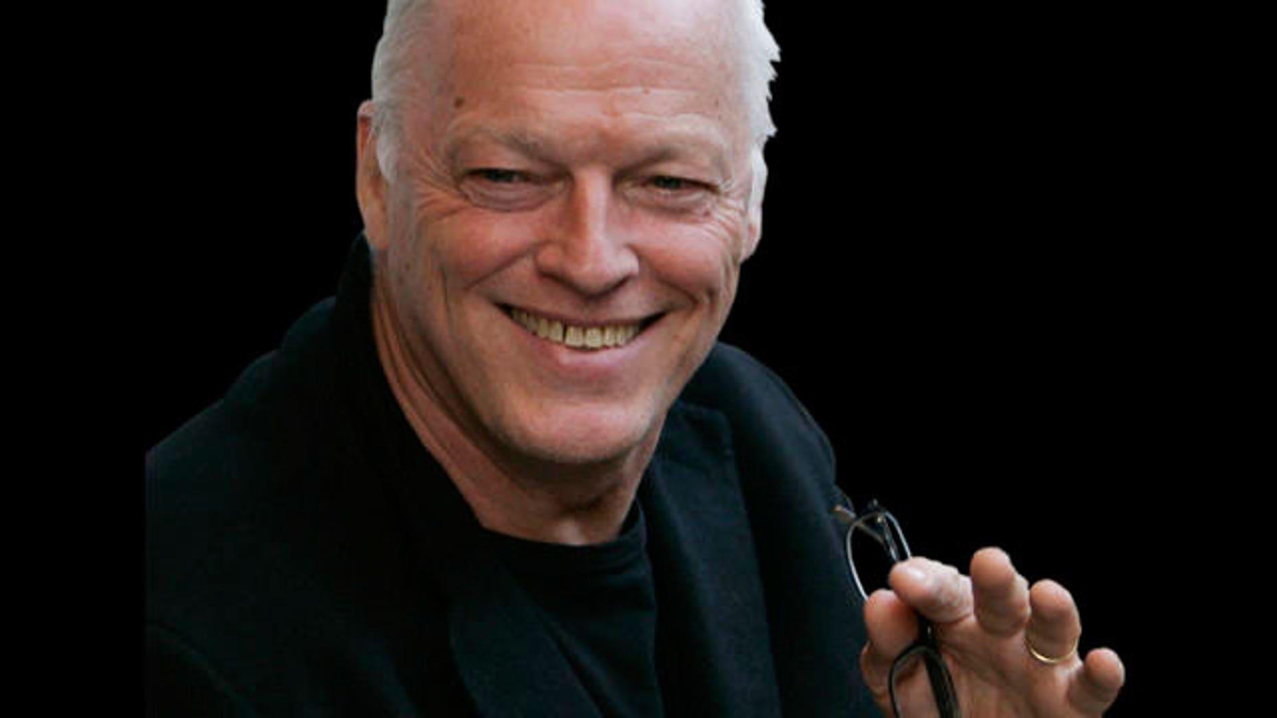 Pink Floyd guitarist David Gilmour (AP)