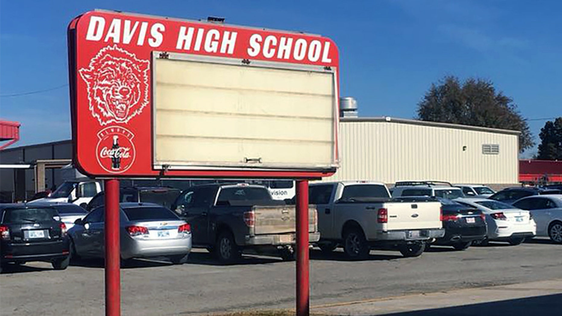 A teacher was fired from her position at Davis High School after she and a teen student reportedly filed for a marriage license.