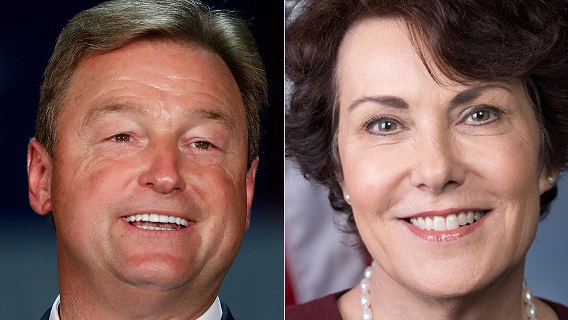 Incumbent Sen. Dean Heller is facing Democrat Rep. Jacky Rosen in a tight bid for re-election in Nevada.