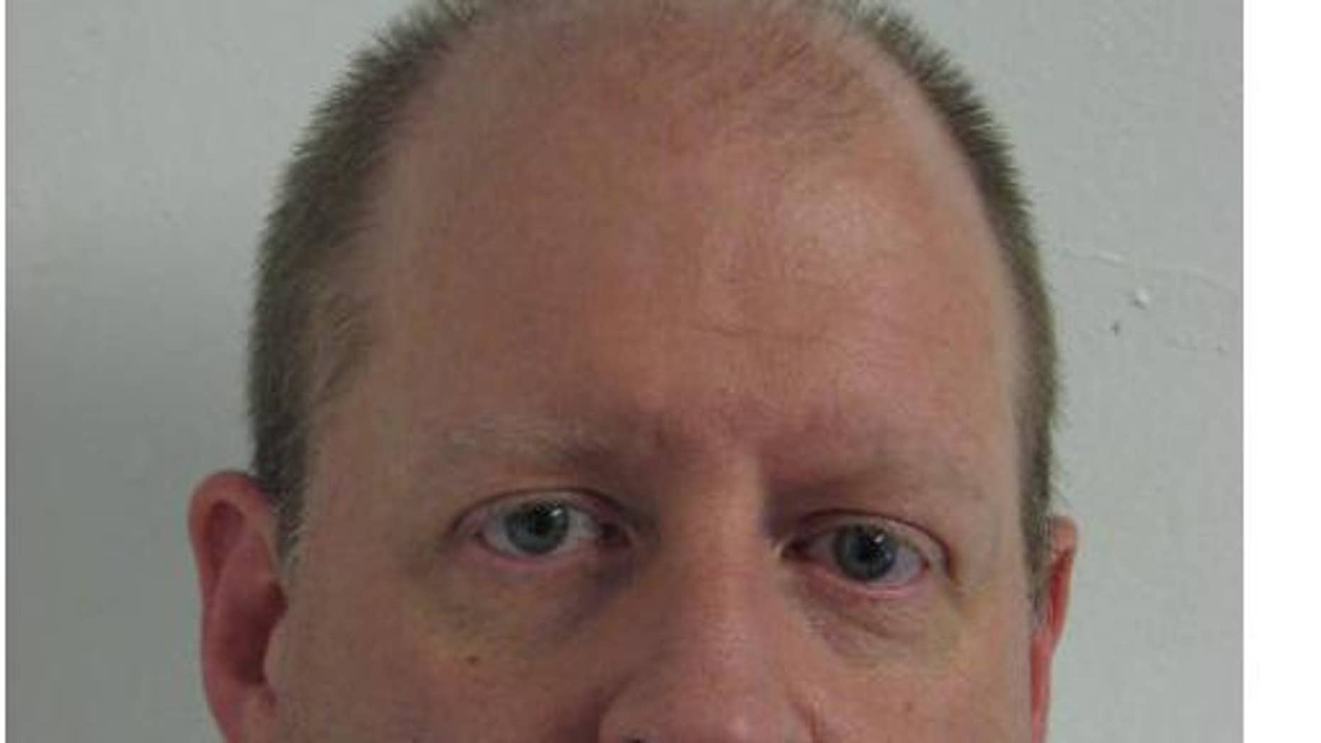 Bob Decheine was arrested November 19 (Gaithersburg, MD Police Mug Shot)