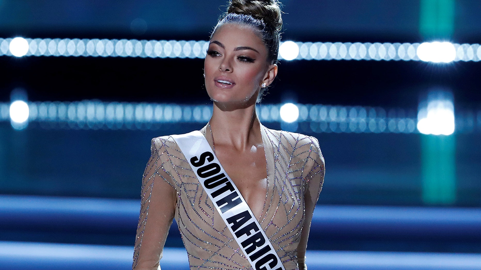 Miss South Africa Demi-Leigh Nel-Peters won the 66th Miss Universe pageant in November 2017.