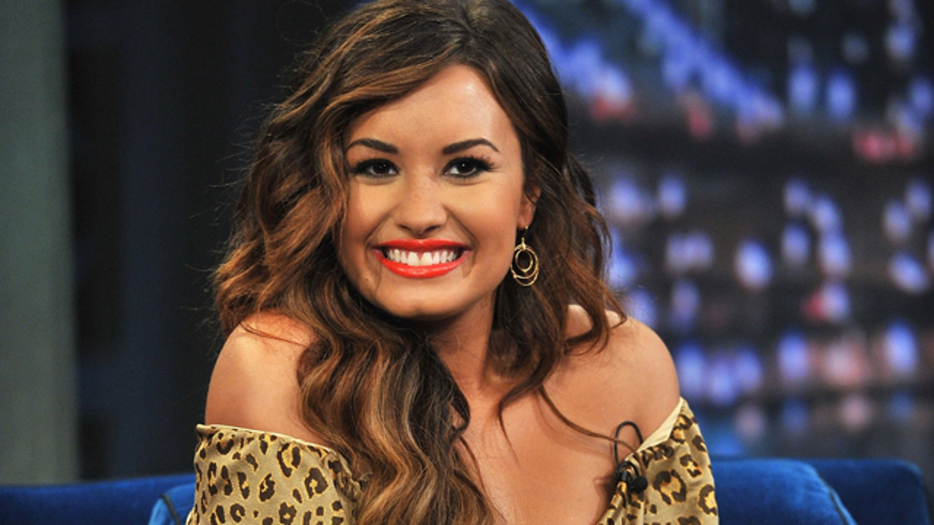 Sept. 20, 2011: Demi Lovato visits 'Late Night With Jimmy Fallon' at Rockefeller Center in New York City.
