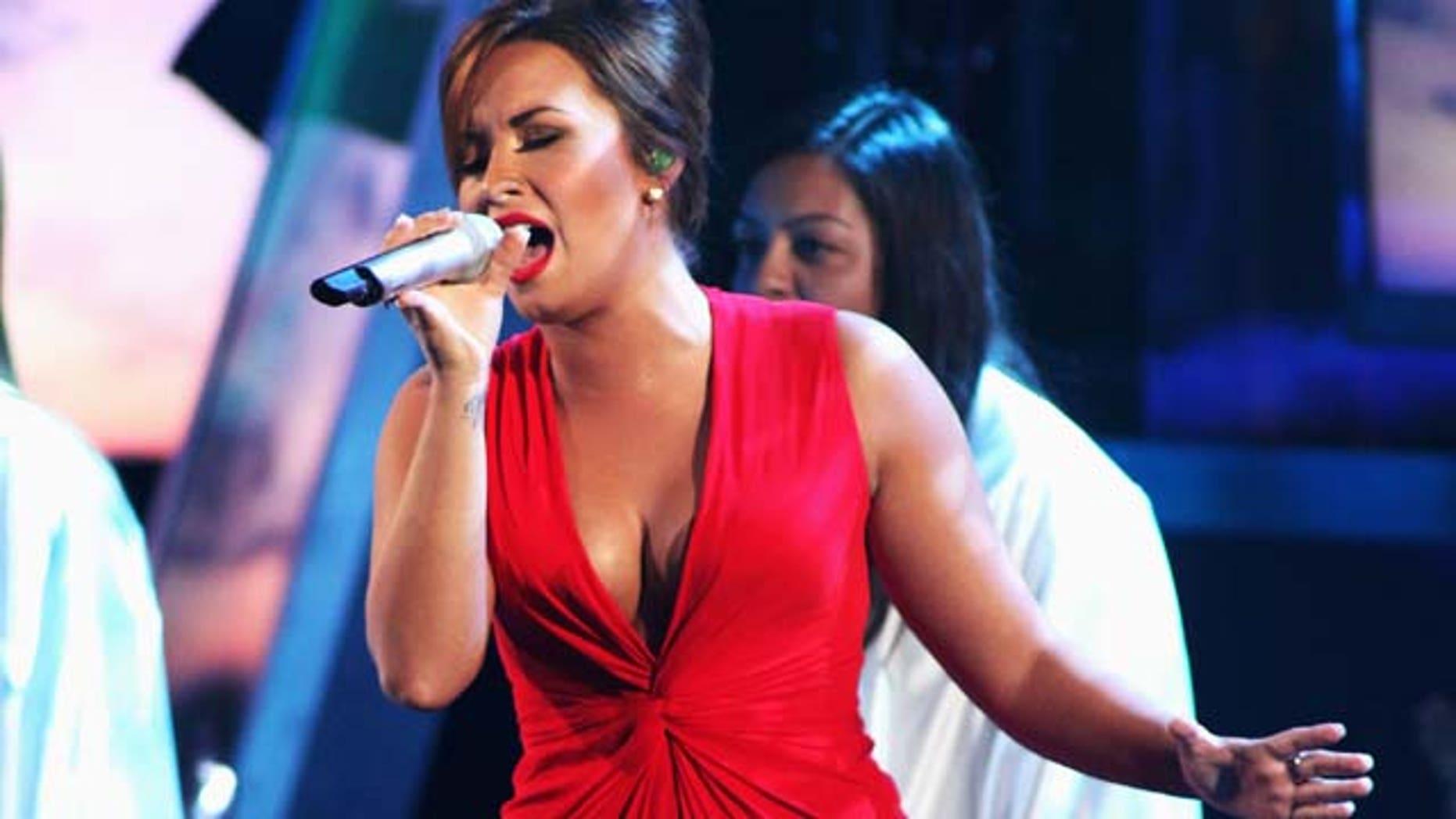 Sept. 10, 2011: Demi Lovato performs onstage during the 2011 NCLR ALMA Awards held at Santa Monica Civic Auditorium in Santa Monica, Calif.