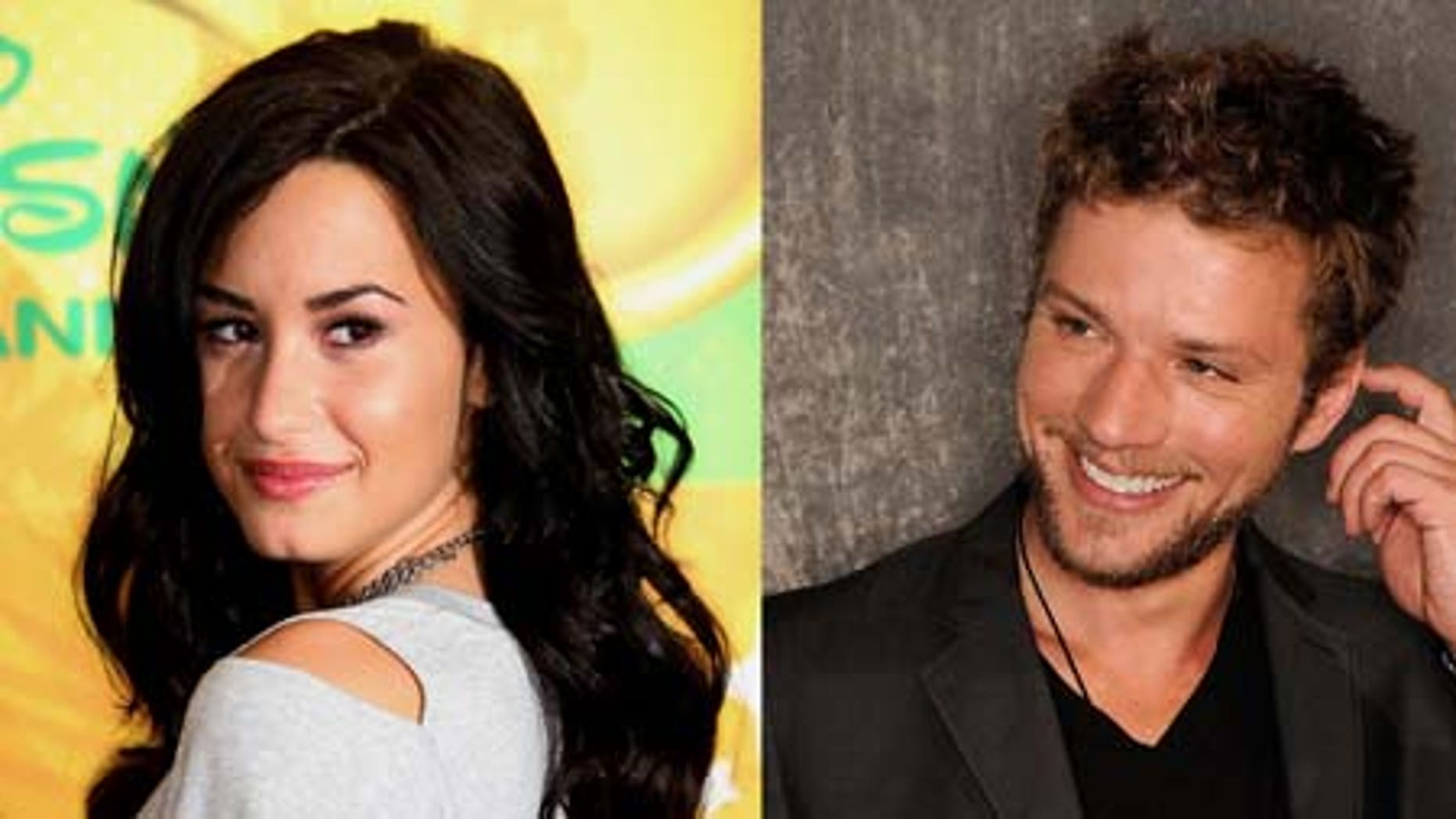 July 19, 2011: singer/actress Demi Lovato is rumored to be dating Hollywood A-Lister actor Ryan Phillippe.