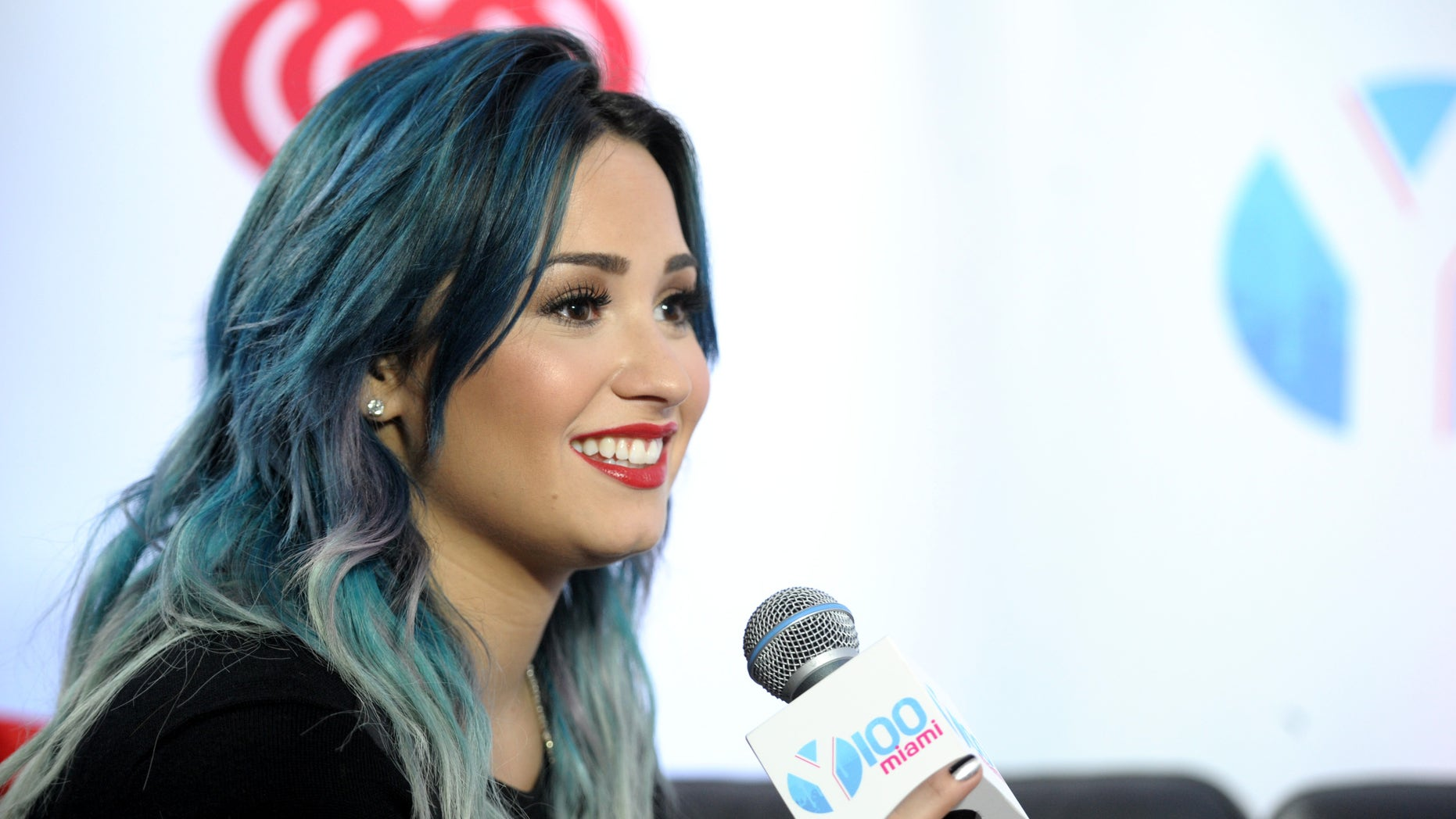 SUNRISE, FL - DECEMBER 20:  Demi Lovato attends Y100Âs Jingle Ball 2013 Presented by Jam Audio Collection at BB&T Center on December 20, 2013 in Miami, Florida.  (Photo by Gustavo Caballero/Getty Images for Clear Channel)