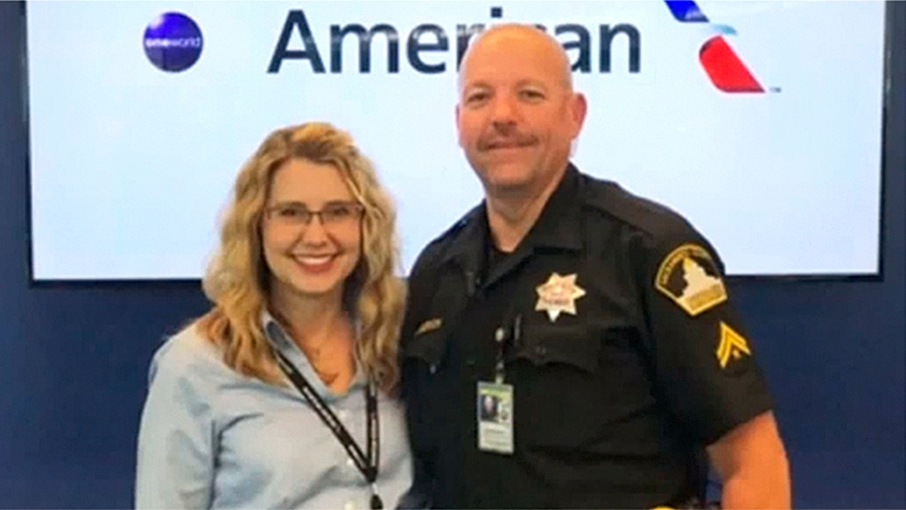 American Airlines Agent Named Miracle Saves Teens From