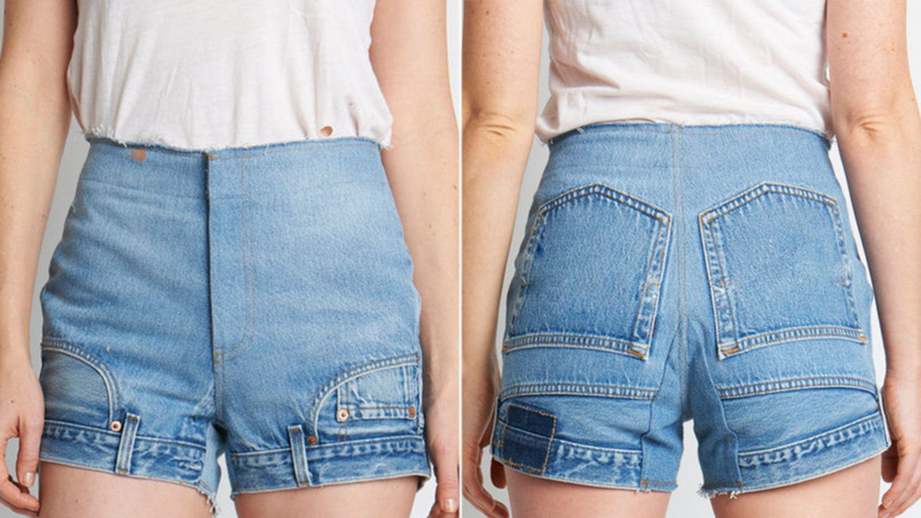 Watch Upside-down jeans may be the next wild denim trend everyone is wearing video