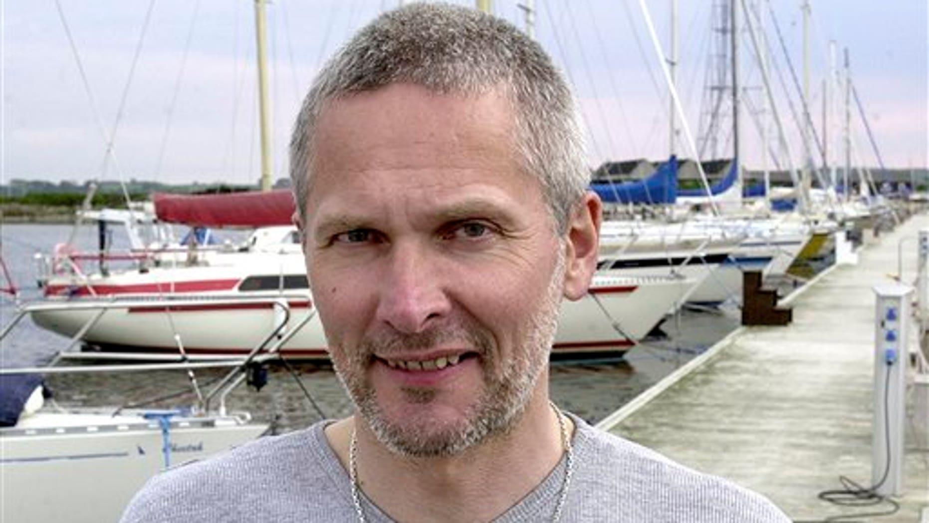 May 2004: Jan Quist Johansen in the harbor of Kalundborg, Denmark.