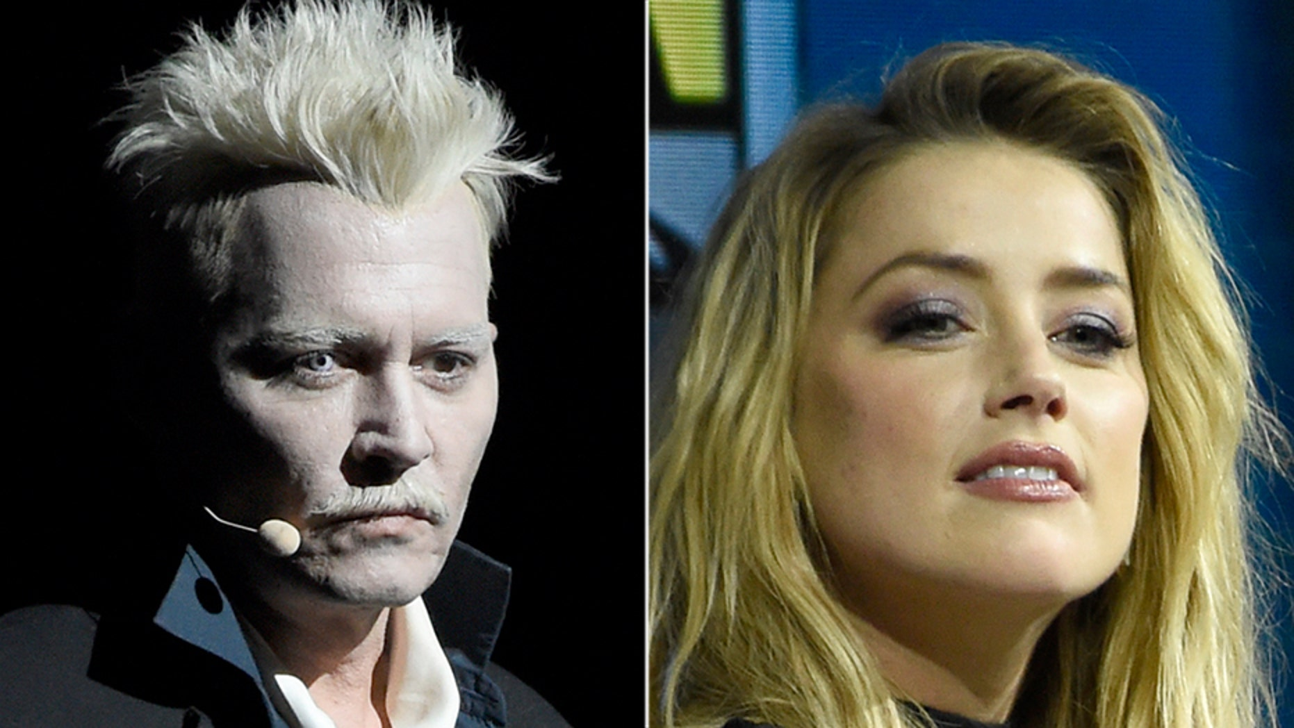 Johnny Depp and Amber Heard managed to avoid each other on Saturday at Comic-Con.