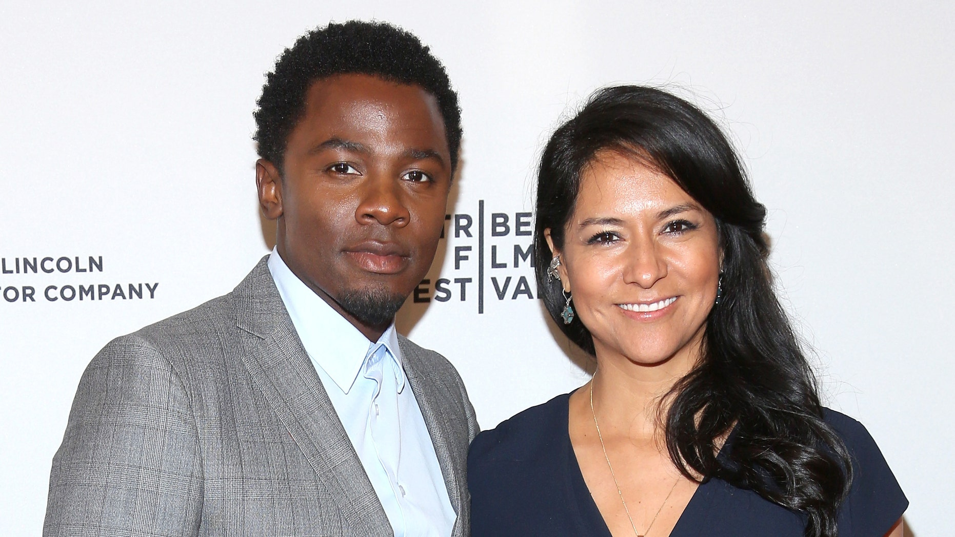 "NEW YORK, NY - APRIL 18:  Actors Derek Luke (L) and Sophia Adella Luke attend the ""Alex of Venice"" Premiere during the 2014 Tribeca Film Festival at SVA Theater on April 18, 2014 in New York City.  (Photo by Rob Kim/Getty Images for the 2014 Tribeca Film Festival)"