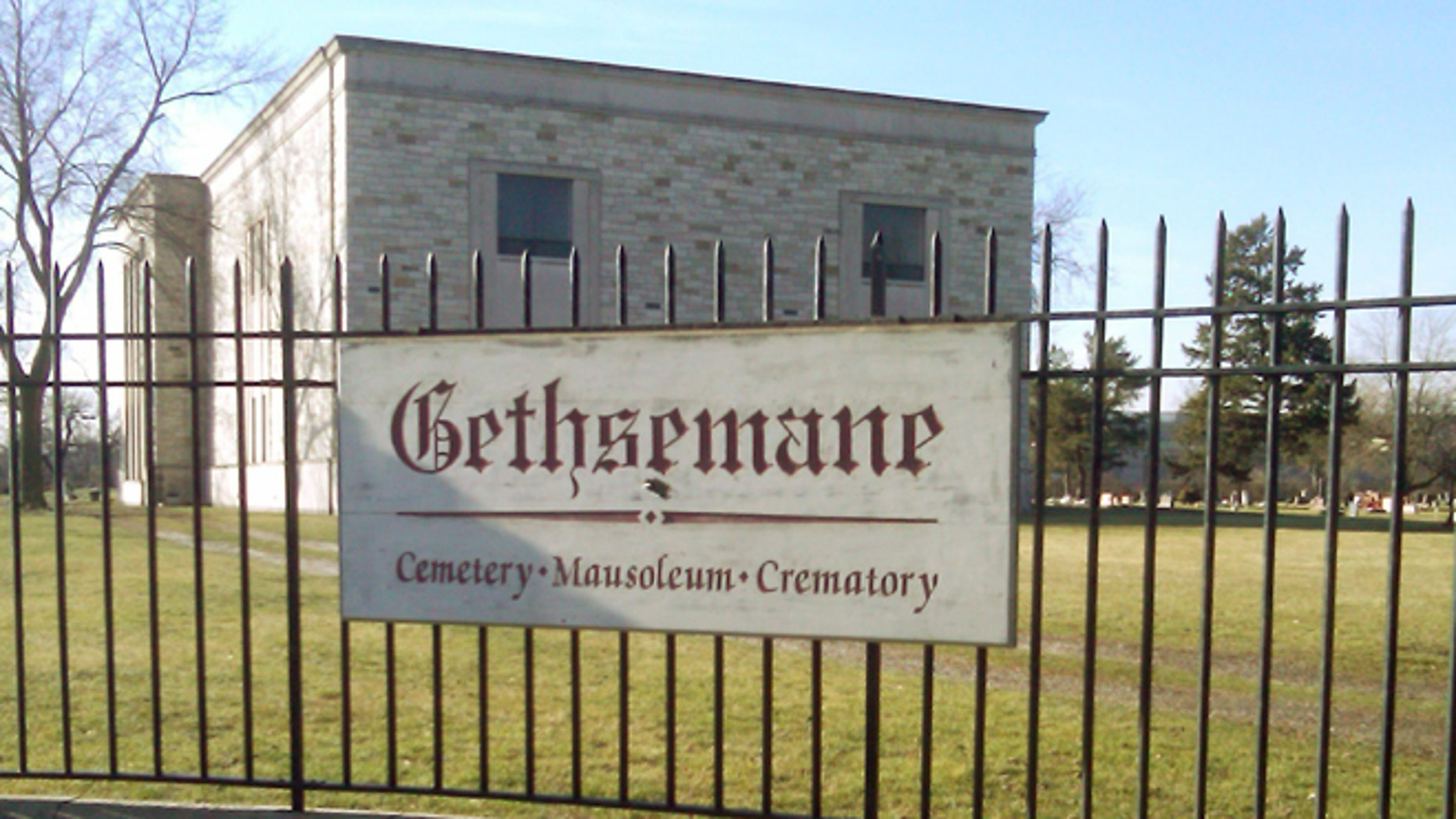 Jan. 15, 2013: Authorities say a casket containing the body of 93-year-old Clarence Bright was stolen from Gethsemane Cemetery seen in Detroit.