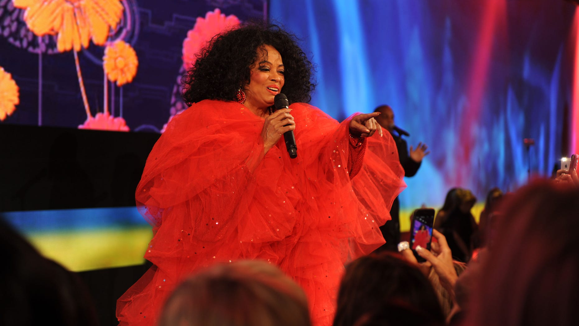 Diana Ross performs at the InterContinental Miami 20 year anniversary MAKE-A-WISH Ball on Nov. 1, 2014.