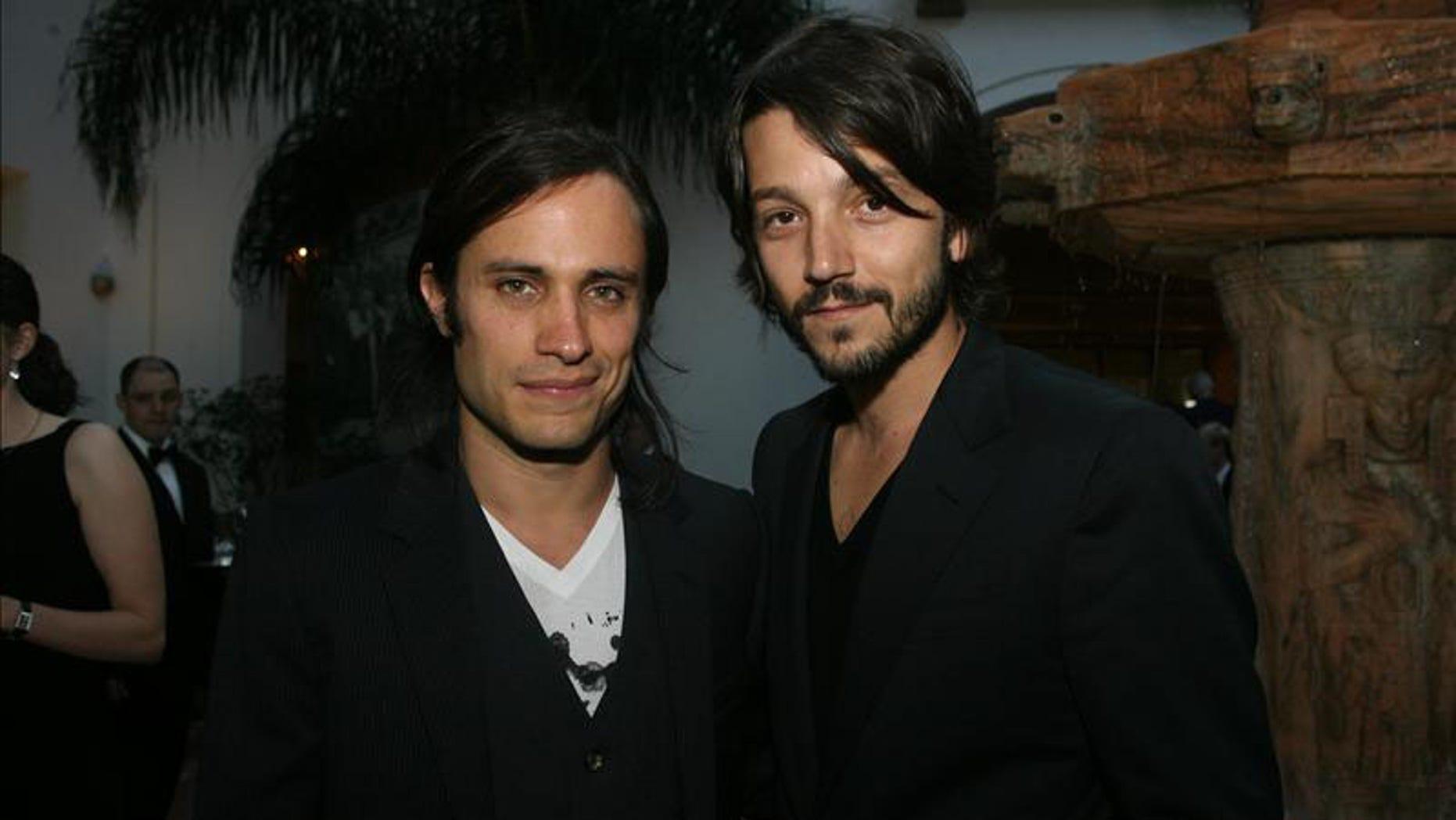 Gael García Bernal and Diego Luna