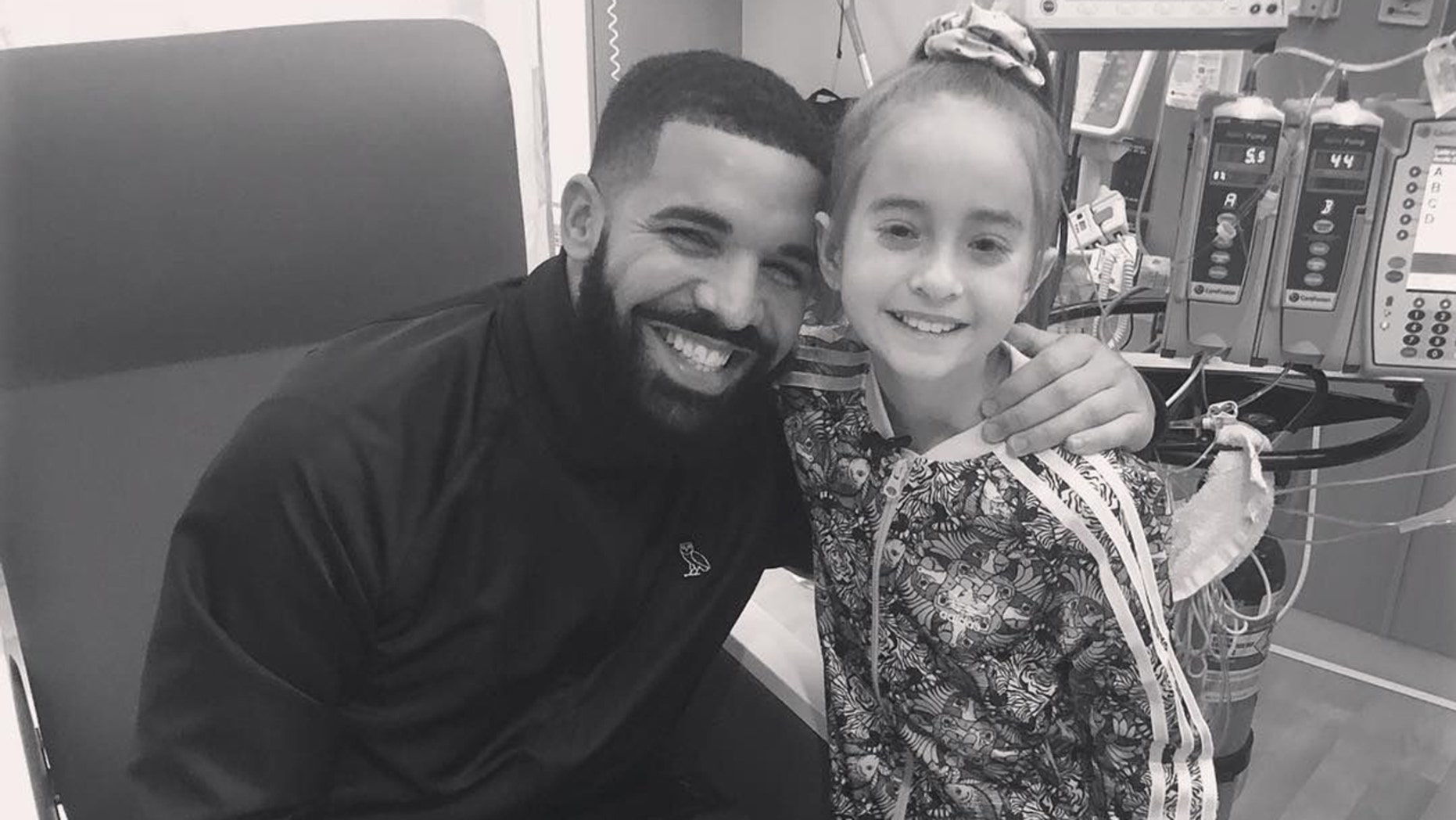 Sofia Sanchez, pictured with the rapper Drake, has found out she's getting a heart transplant.