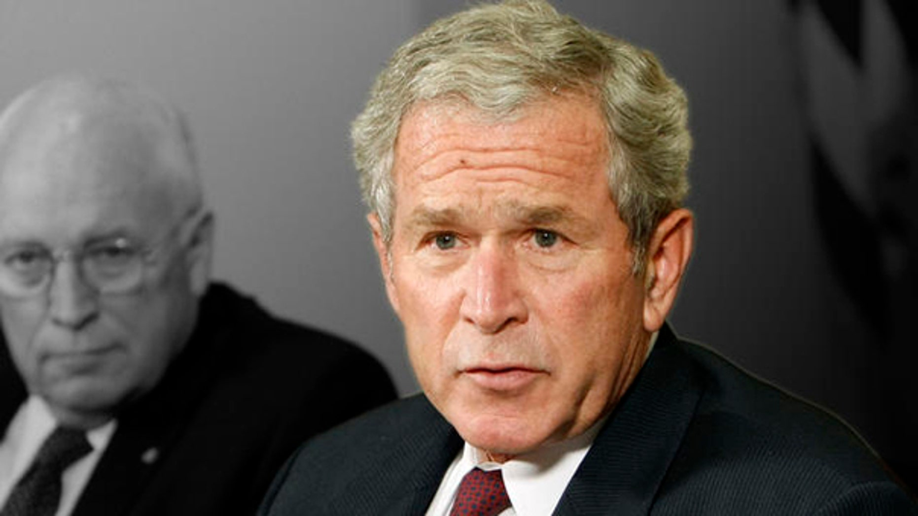 Former President Bush and former Vice President Dick Cheney (AP)