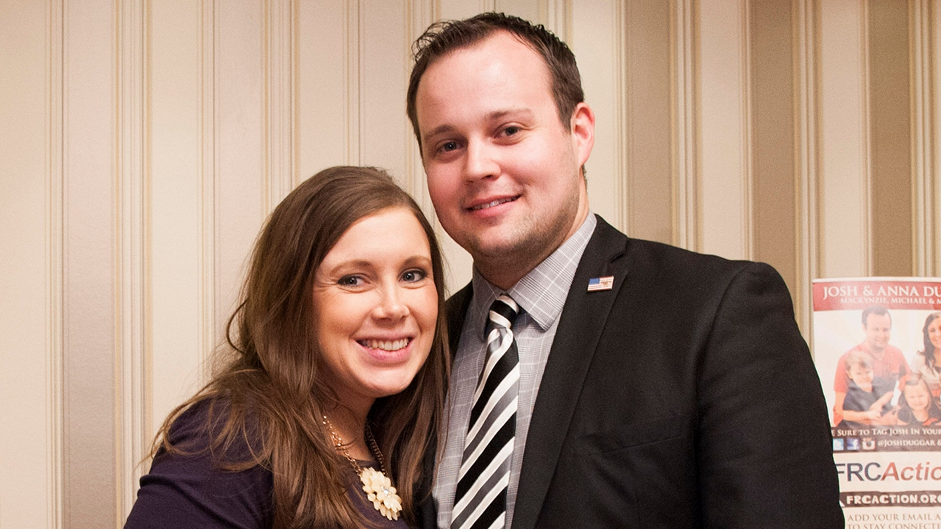 "Anna Duggar wrote in an Instagram post that the past 10 years with her husband Josh Duggar ""have been a wonderful adventure."""
