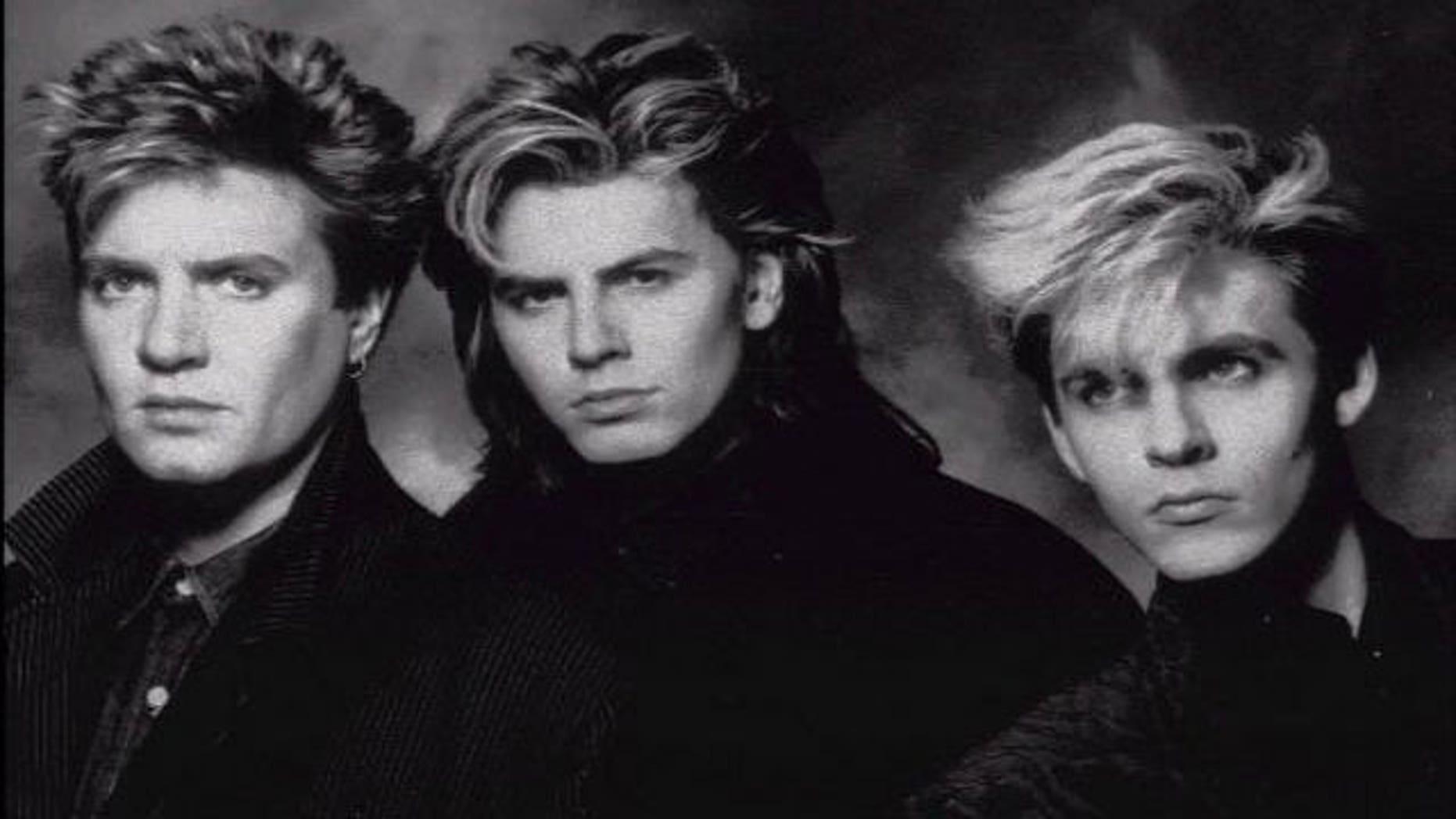 Duran Duran: (l-r) Simon LeBon, John Taylor and Nick Rhodes are seen in a 1989 photo. (AP)