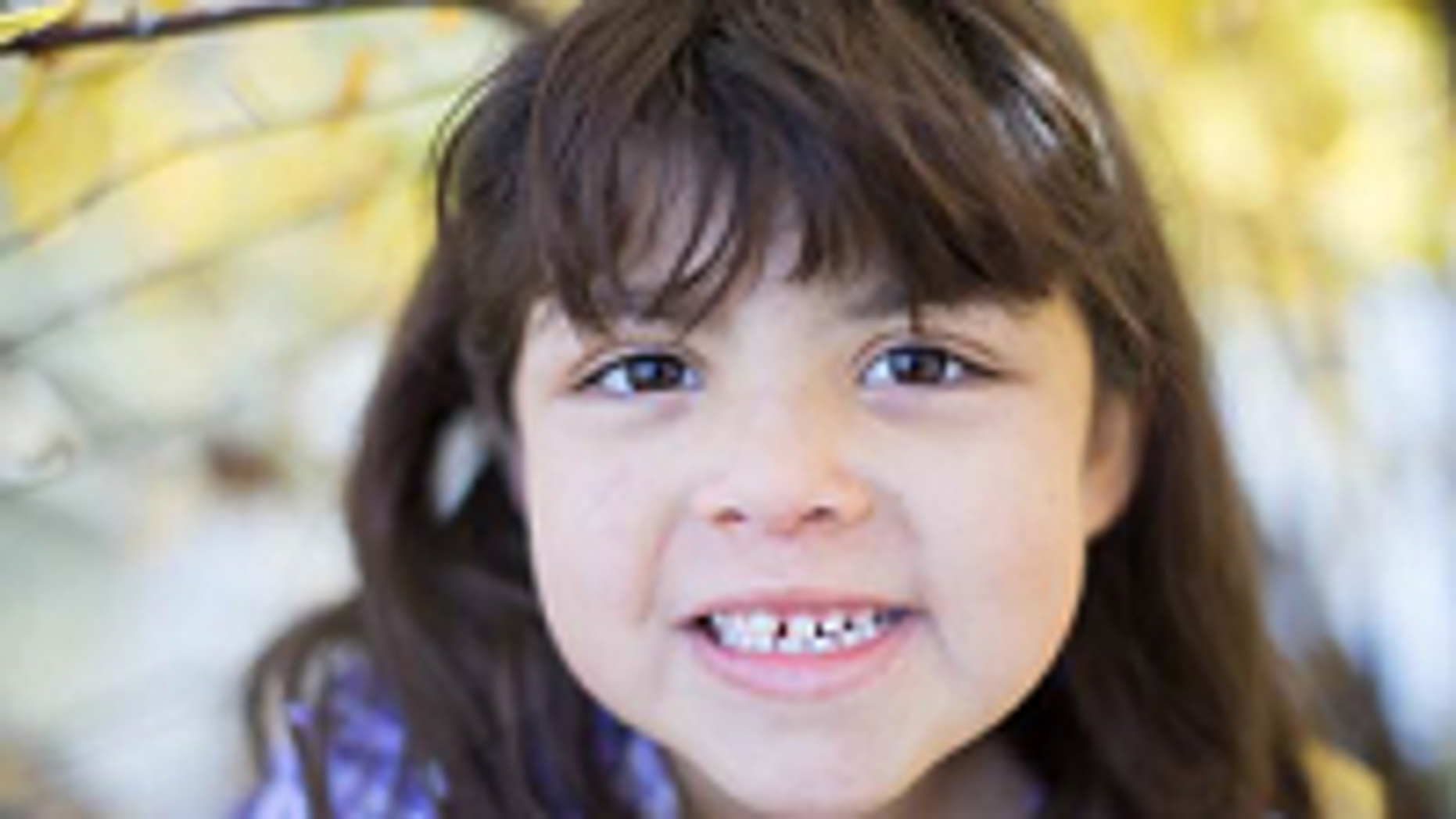 Six-year-old Eden Nunn was abducted by her mother last month. (KMSP Photo)
