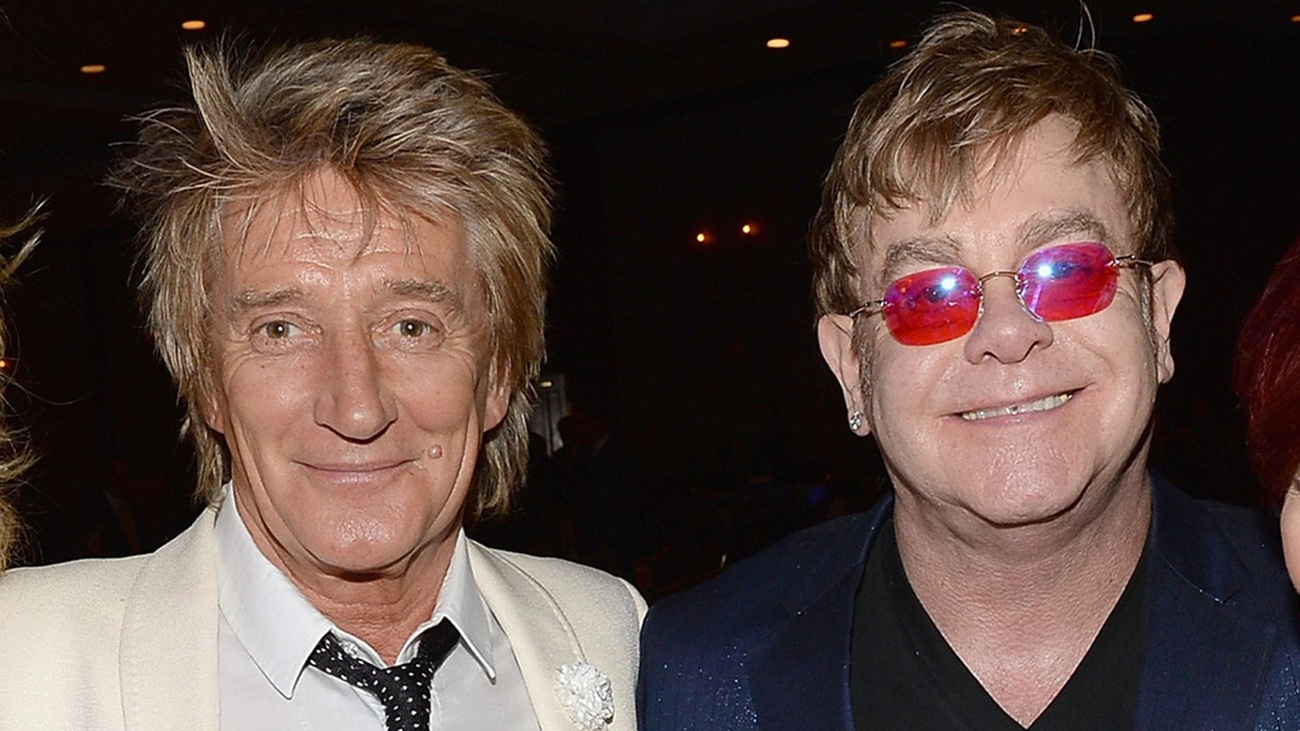 Rod Stewart (left) said he feels that Elton John's retirement tour is a ploy to sell tickets.