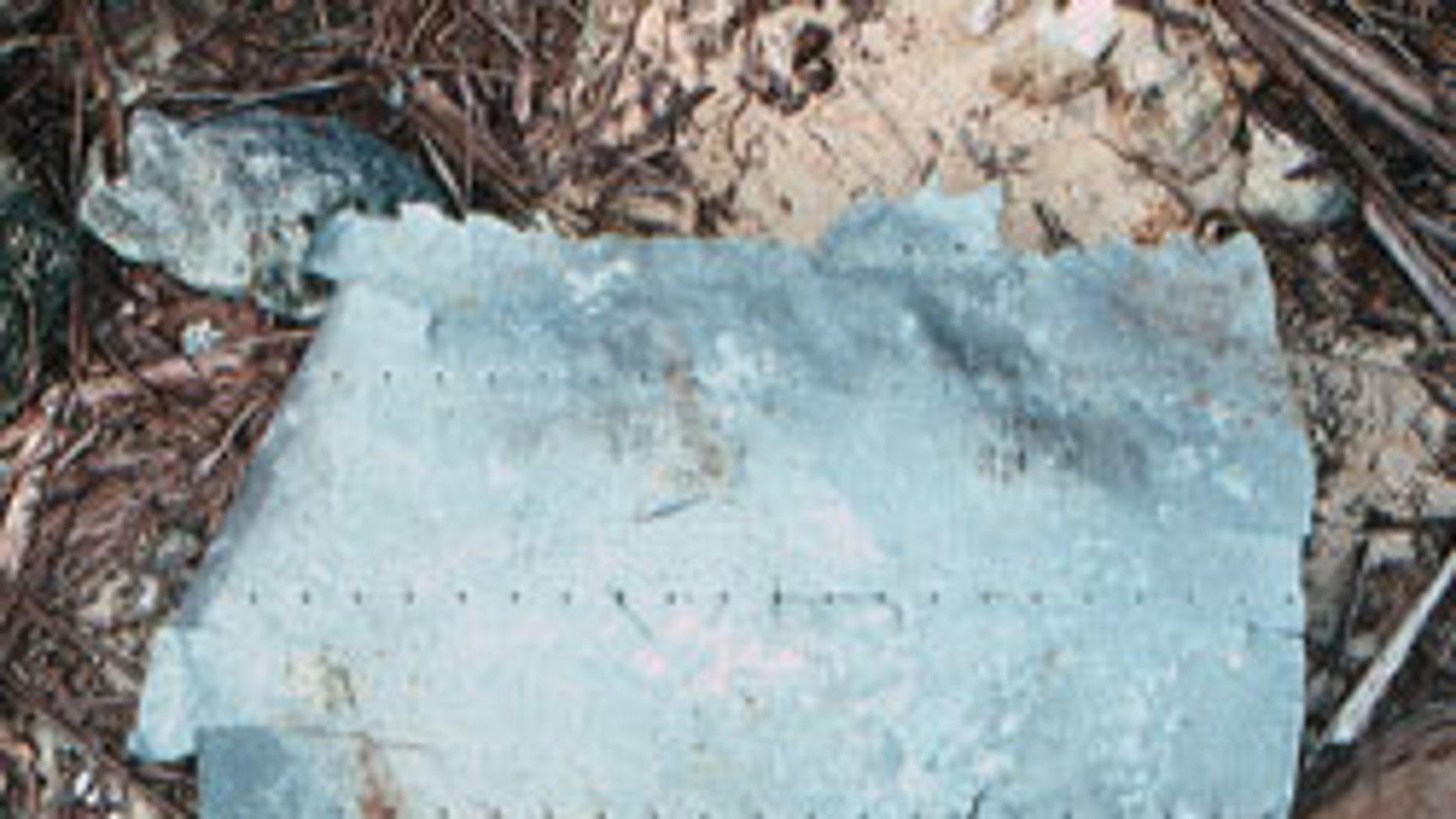 A piece of aluminum debris recovered in 1991 appears to belong to Earhart's lost plane.