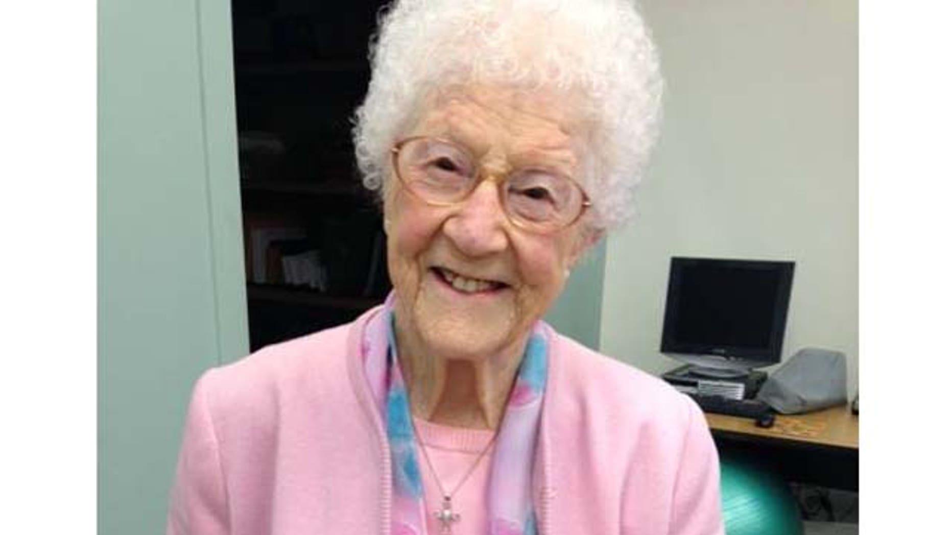 Edythe Kirchmaier, the oldest registered Facebook user, celebrated her 107th birthday on Thursday in Santa Barbara, Calif.