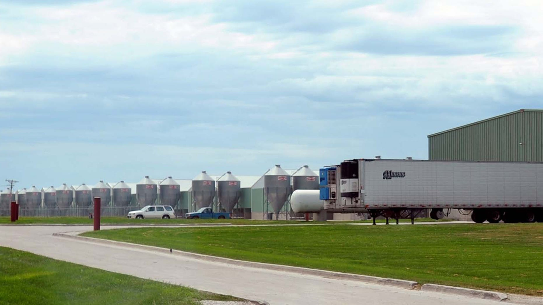 Aug. 20, 2010: Photo shows a Wright Egg facility near Galt, Iowa, that was linked to a nationwide salmonella outbreak.