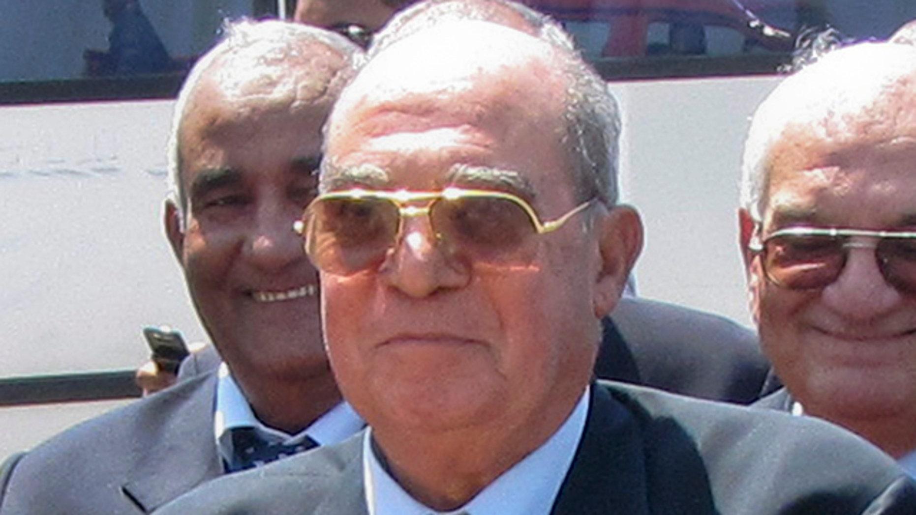 FILE-Mahmoud Abdel Salam Omar is chairman of the Egyptian state-run salt production company El-Mex Salines Co.
