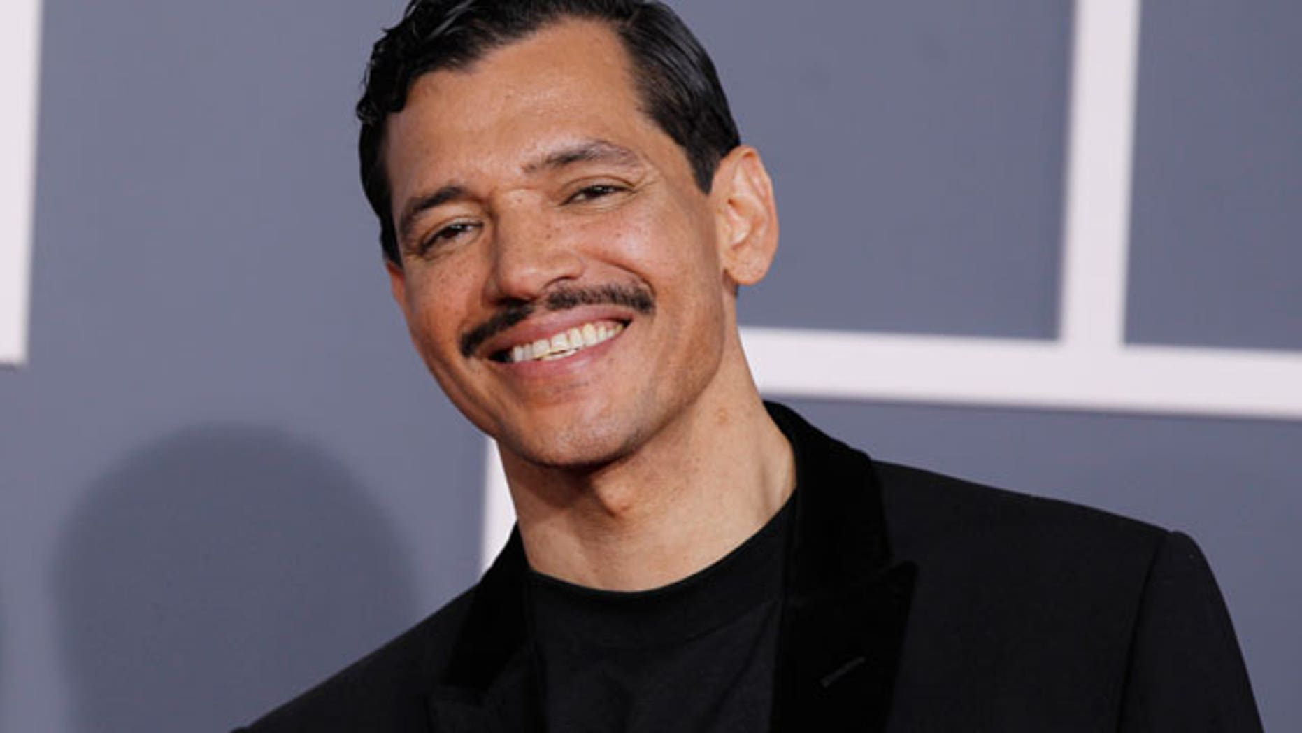 Feb. 13: Singer El Debarge arrives at the 54th annual Grammy Awards in Los Angeles, California. (REUTERS)