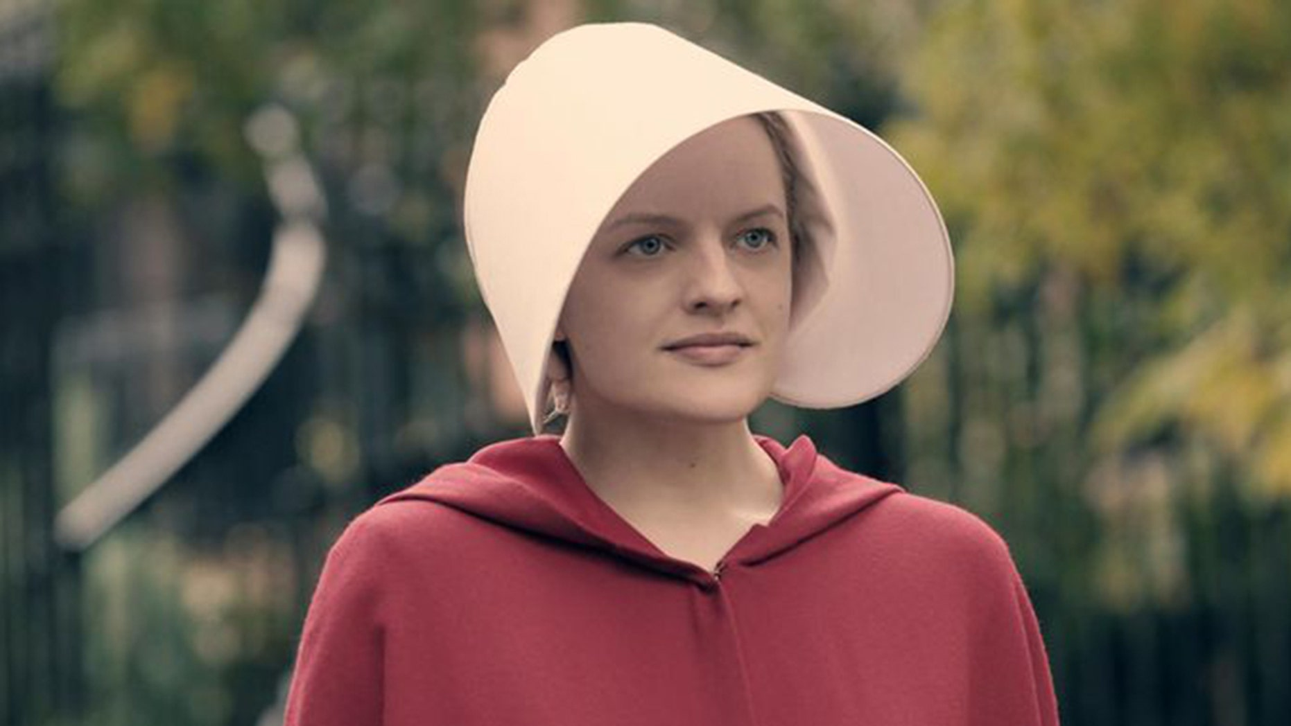 """Elisabeth Moss plays Offred in """"The Handmaid's Tale."""""""