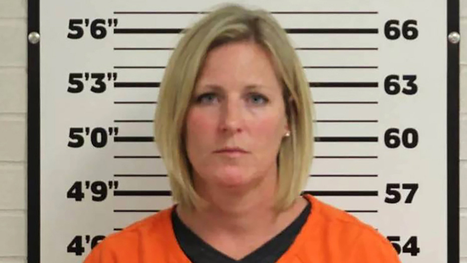 Elizabeth Giesler, 39, an assistant high school principal in Missouri, was charged Friday with felony sexual contact with a student, felony second-degree statutory sodomy and second-degree statutory rape. (Ste. Genevieve County Sheriff's Office)