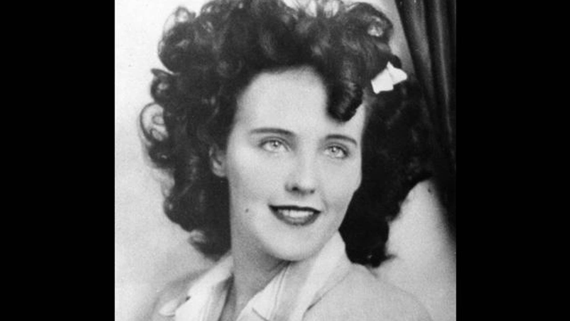 """Elizabeth Short, 22, was killed in 1947 in one of the greatest unsolved murders in Los Angeles history. The aspiring actress was nicknamed the """"Black Dhalia"""" in media reports at the time."""