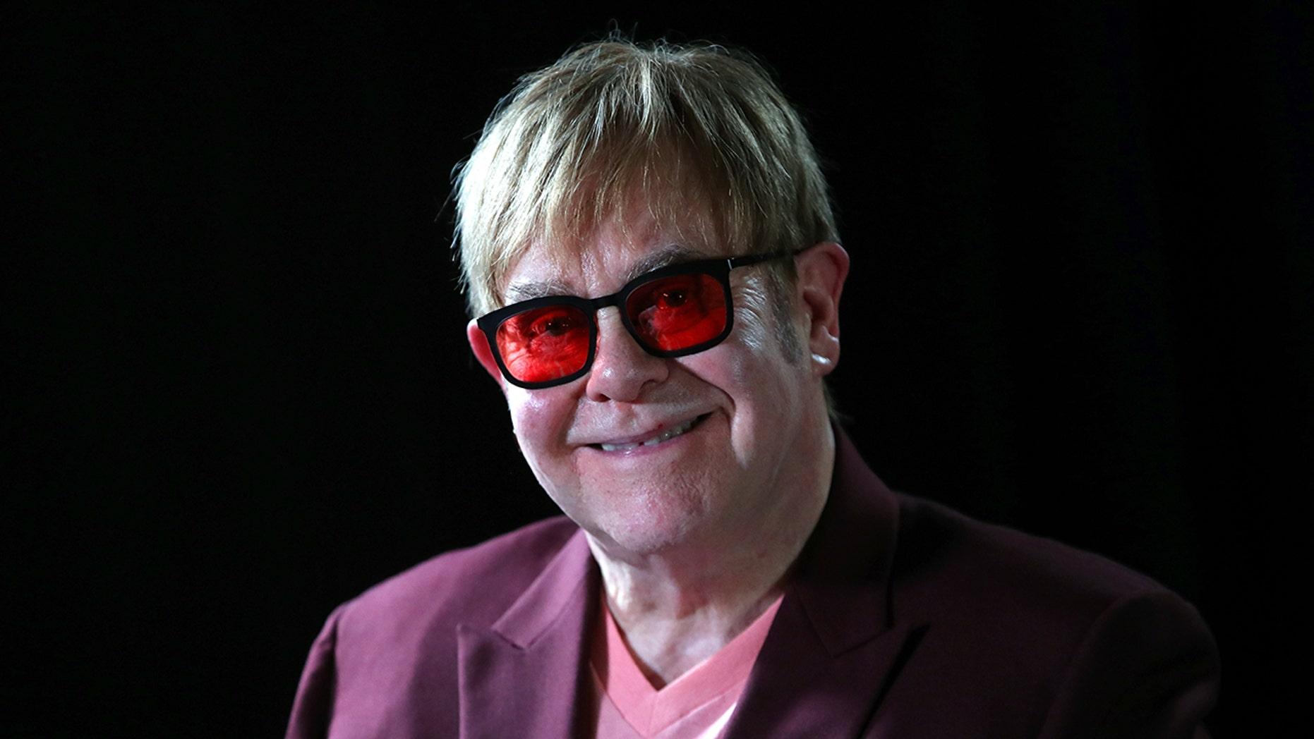Elton John was among those celebrating his godson Romeo Beckham's birthday this week.