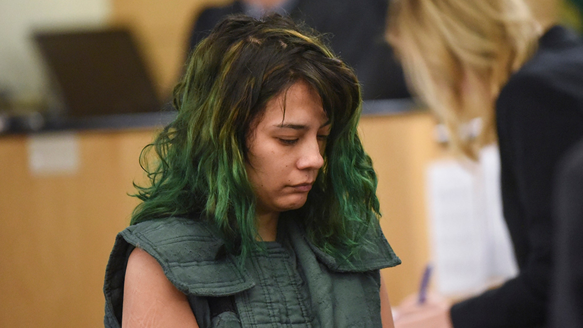 March 5: Emily Javier of Camas, Wash., makes a first appearance in Clark County Superior Court