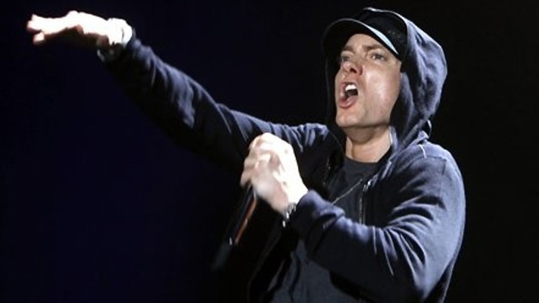 Eminem is hoping for a clean sweep at the Grammys.