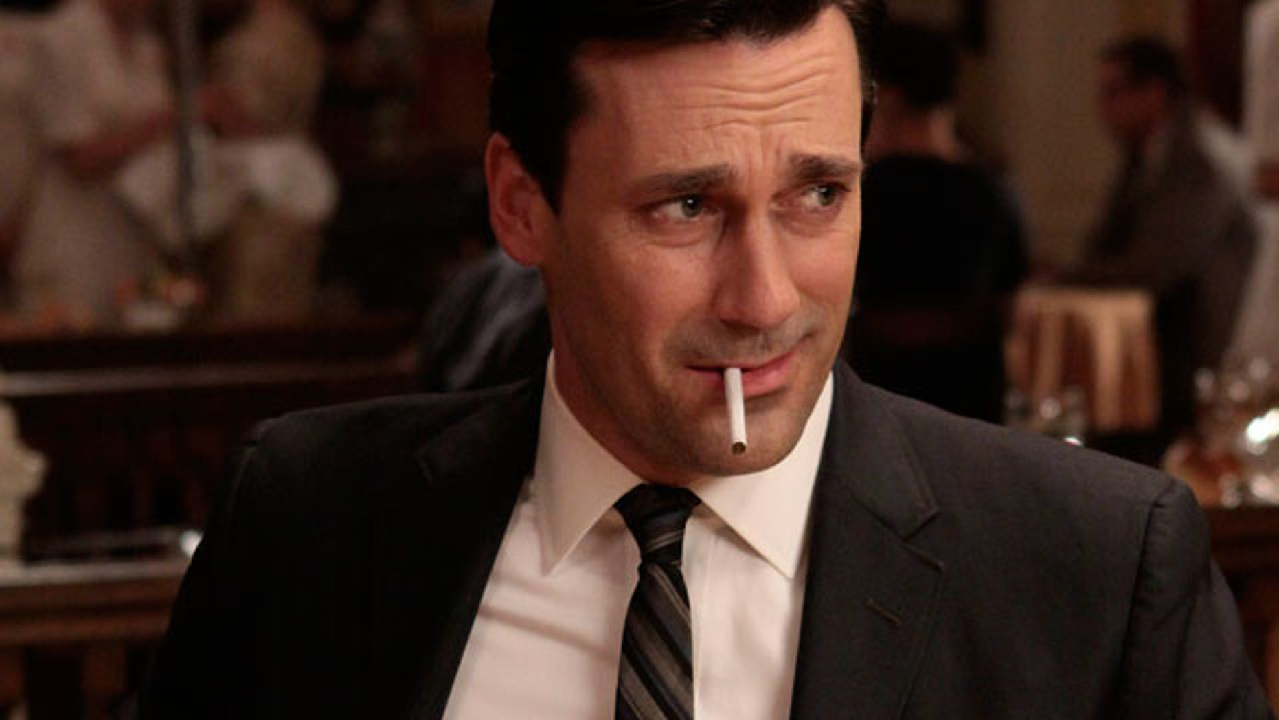 Actor Jon Hamm in a scene from AMC's Emmy-nominated 'Mad Men.' (AP)