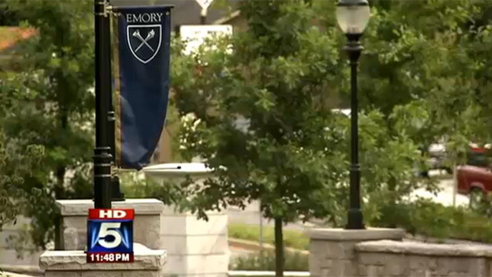 The Emory University campus in Atlanta.