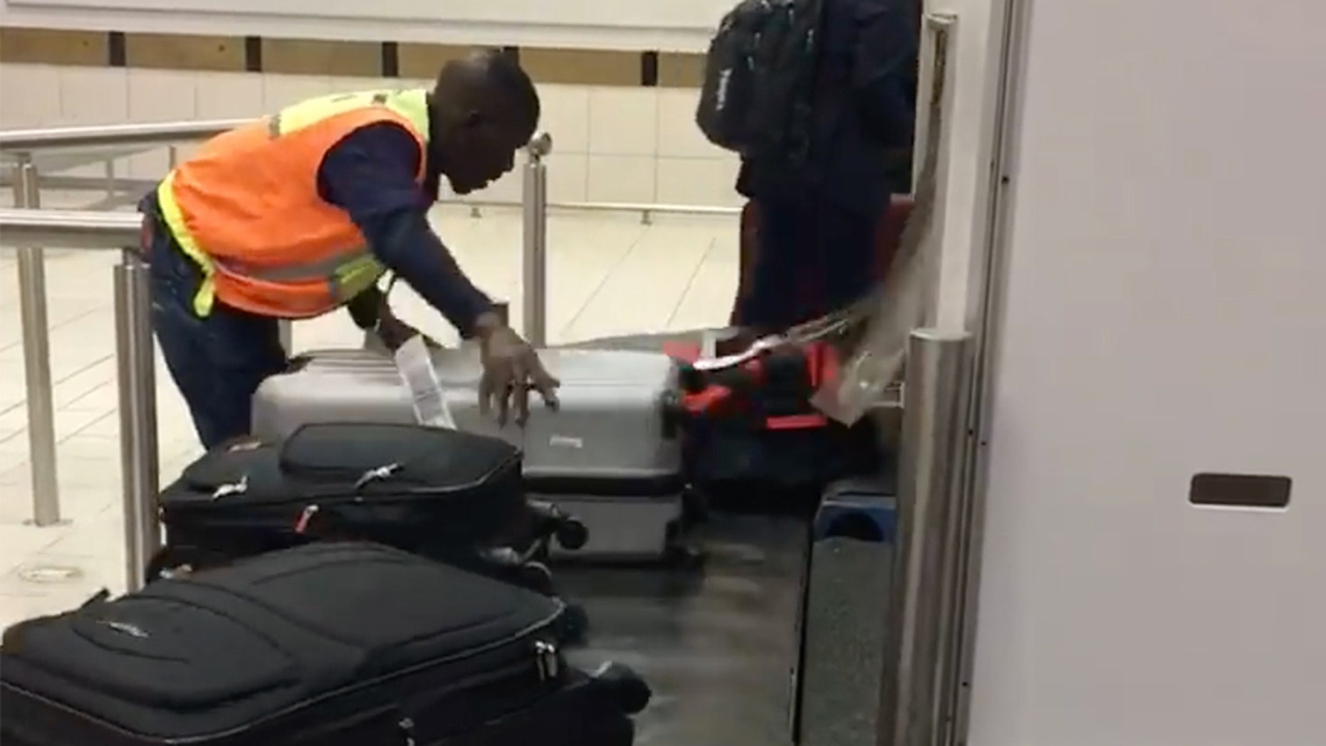Ephraim Sibeko of Lanseria International Airport in South Africa has gone viral for going the extra mile.