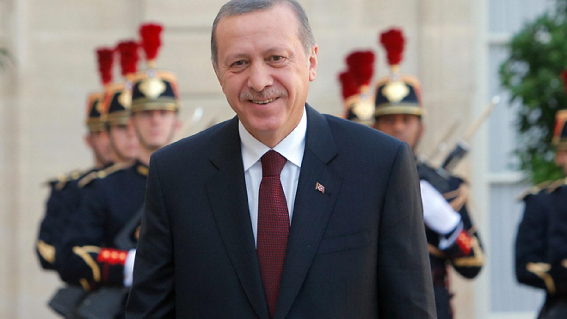 Turkish President Recep Tayyip Erdogan (AP)