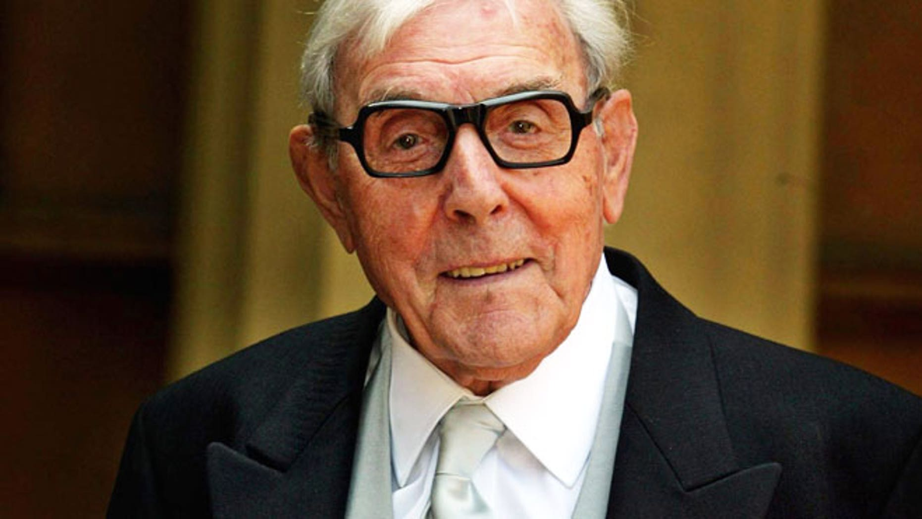 FILE: English comic actor Eric Sykes is seen in 2005.