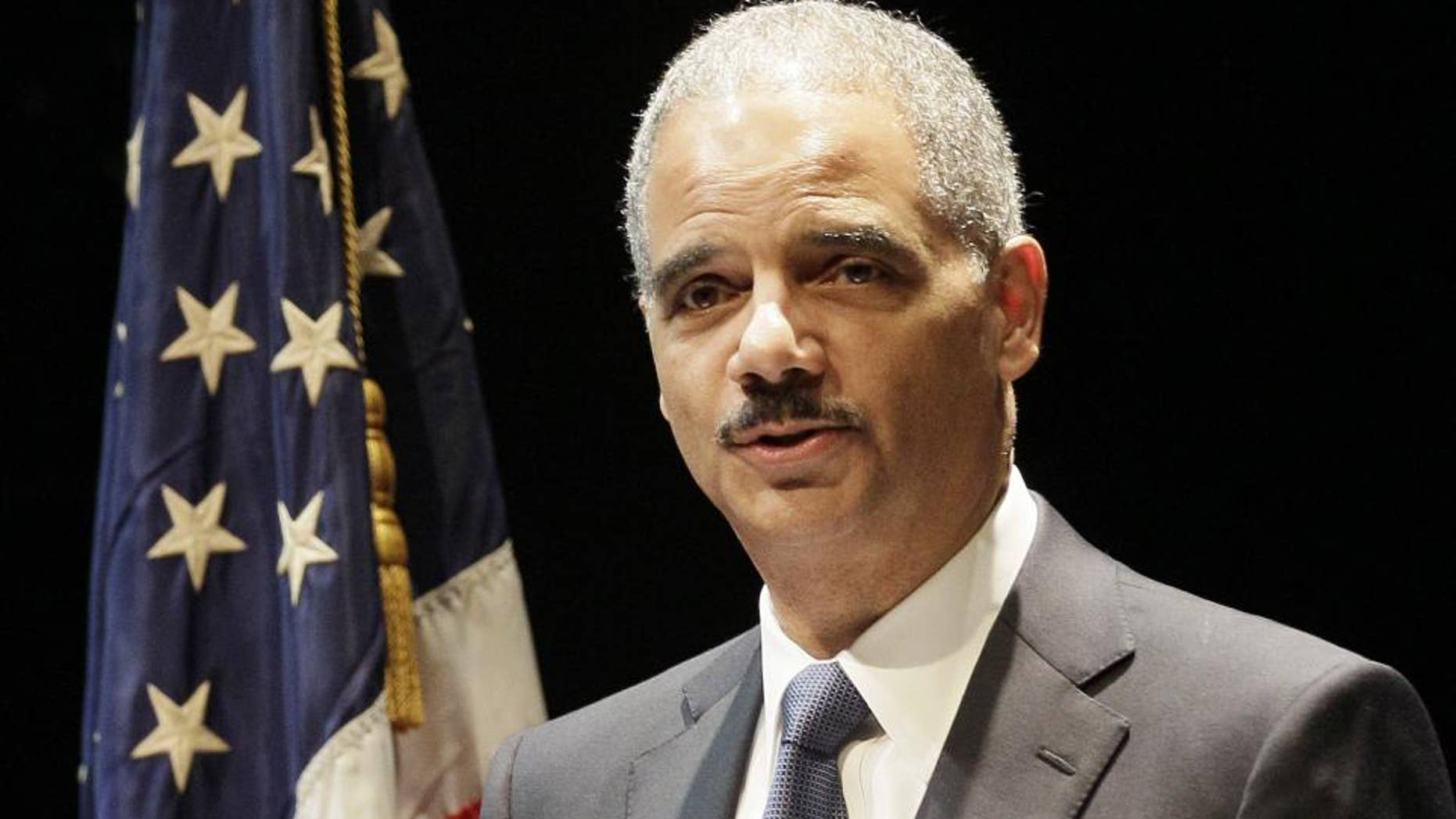 Attorney General Eric Holder (AP File Photo/Darron Cummings)