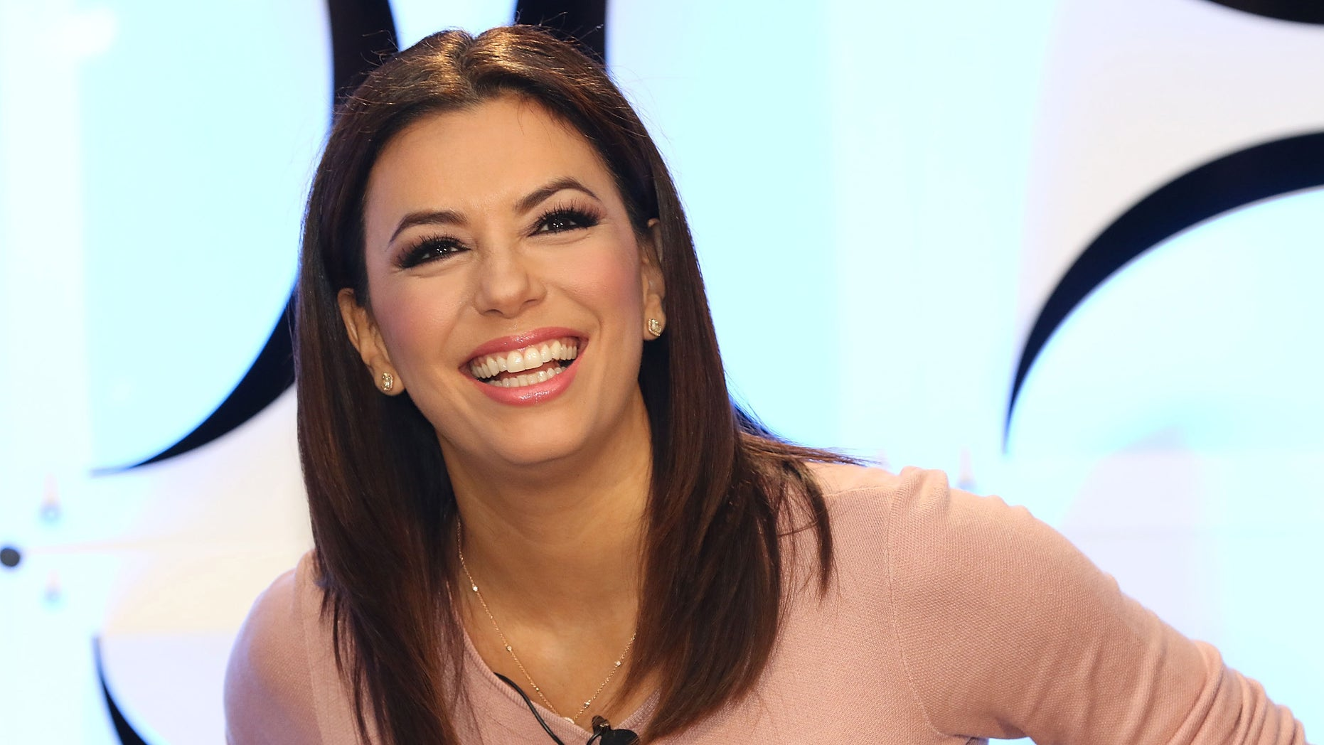 MIAMI BEACH, FL - JANUARY 22: Eva Longoria attends Global Navigators: Sharpening the Focus: How U.S. Networks Are Engaging the Hispanic Audience on day 3 of NATPE 2015 at Fontainebleau Miami Beach on January 22, 2015 in Miami Beach, Florida. (Photo by Aaron Davidson/Getty Images)