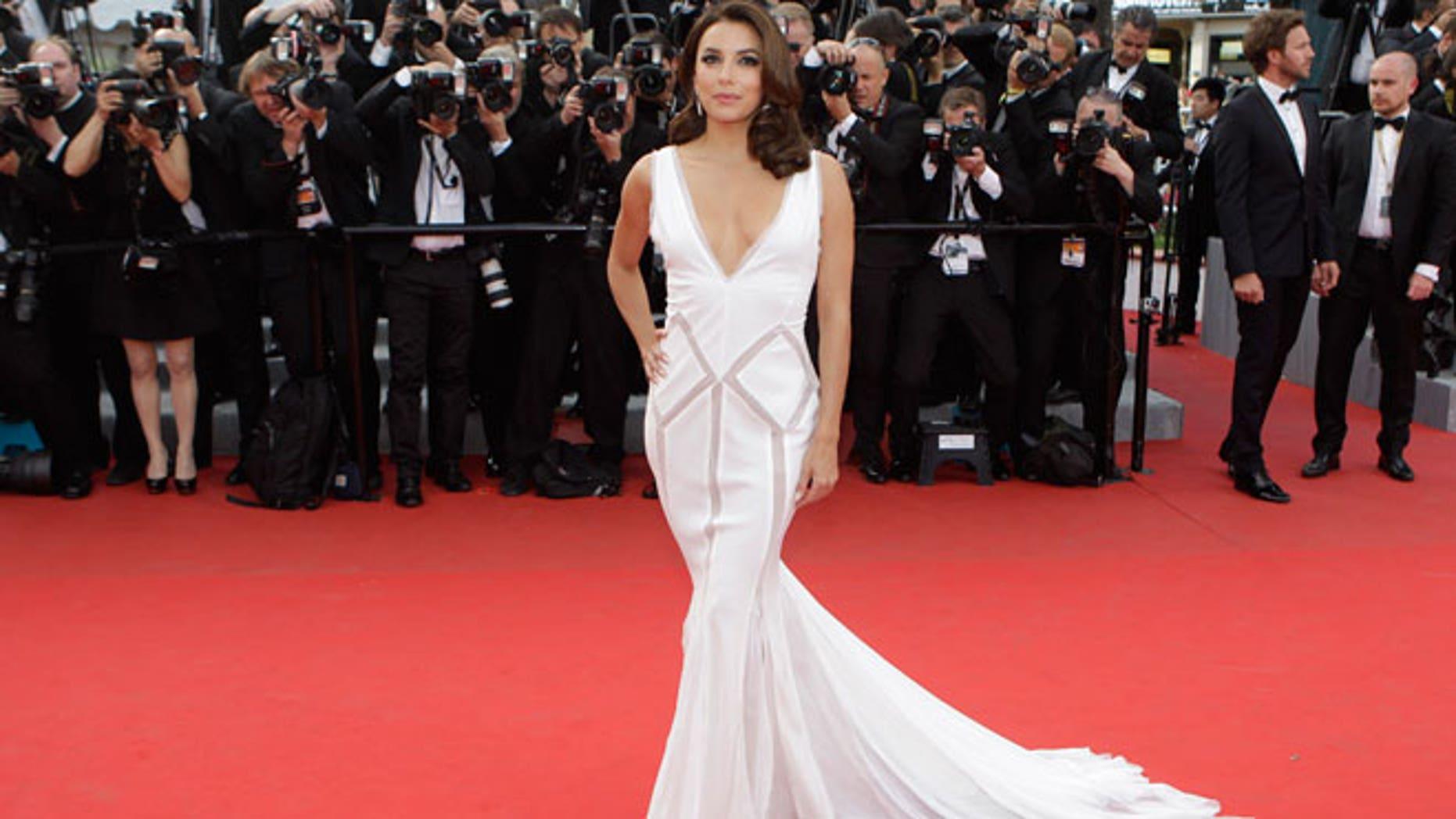 Eva Longoria at the Cannes Film Festival
