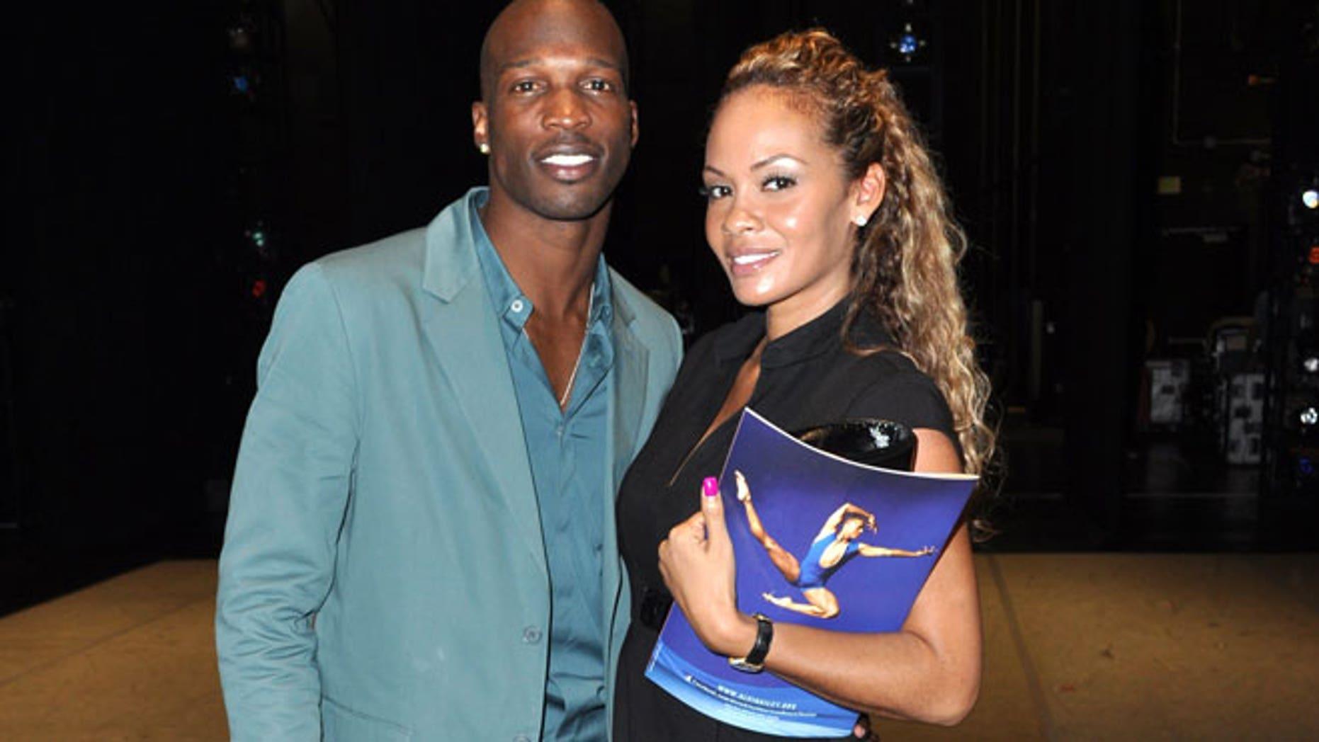FILE:  Chad Ochocinco and Evelyn Lozada in February, 2011