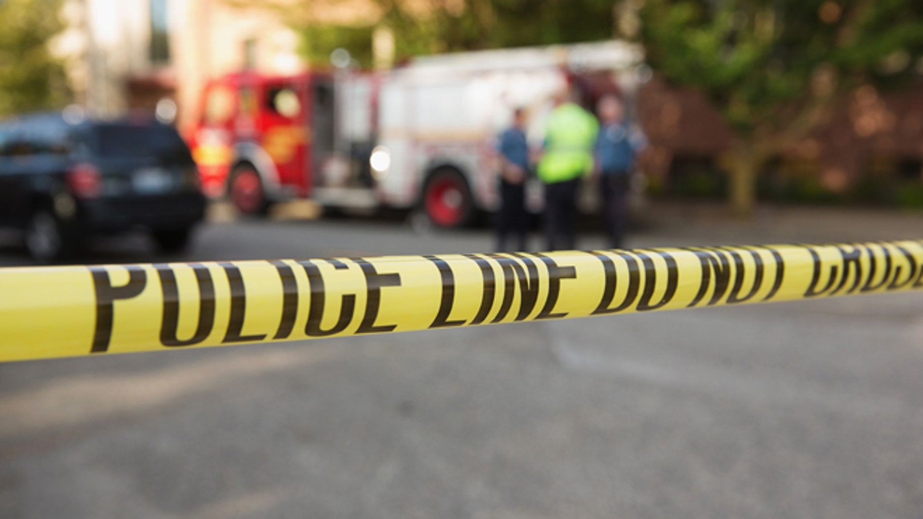 SEATTLE, WA - JUNE 05:  Police tape marks the crime scene after a shooting at Seattle Pacific University on June 5, 2014 in Seattle, Washington.  A gunman is in custody after four people were shot on campus resulting in one death. (Photo by Mat Hayward/Getty Images)