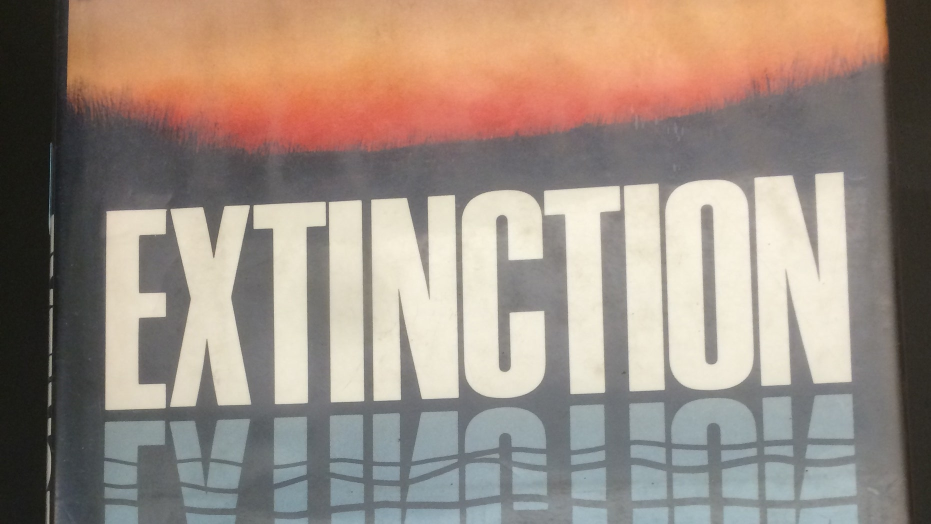 """The cover of Paul Ehrlich """"Extinction"""""""