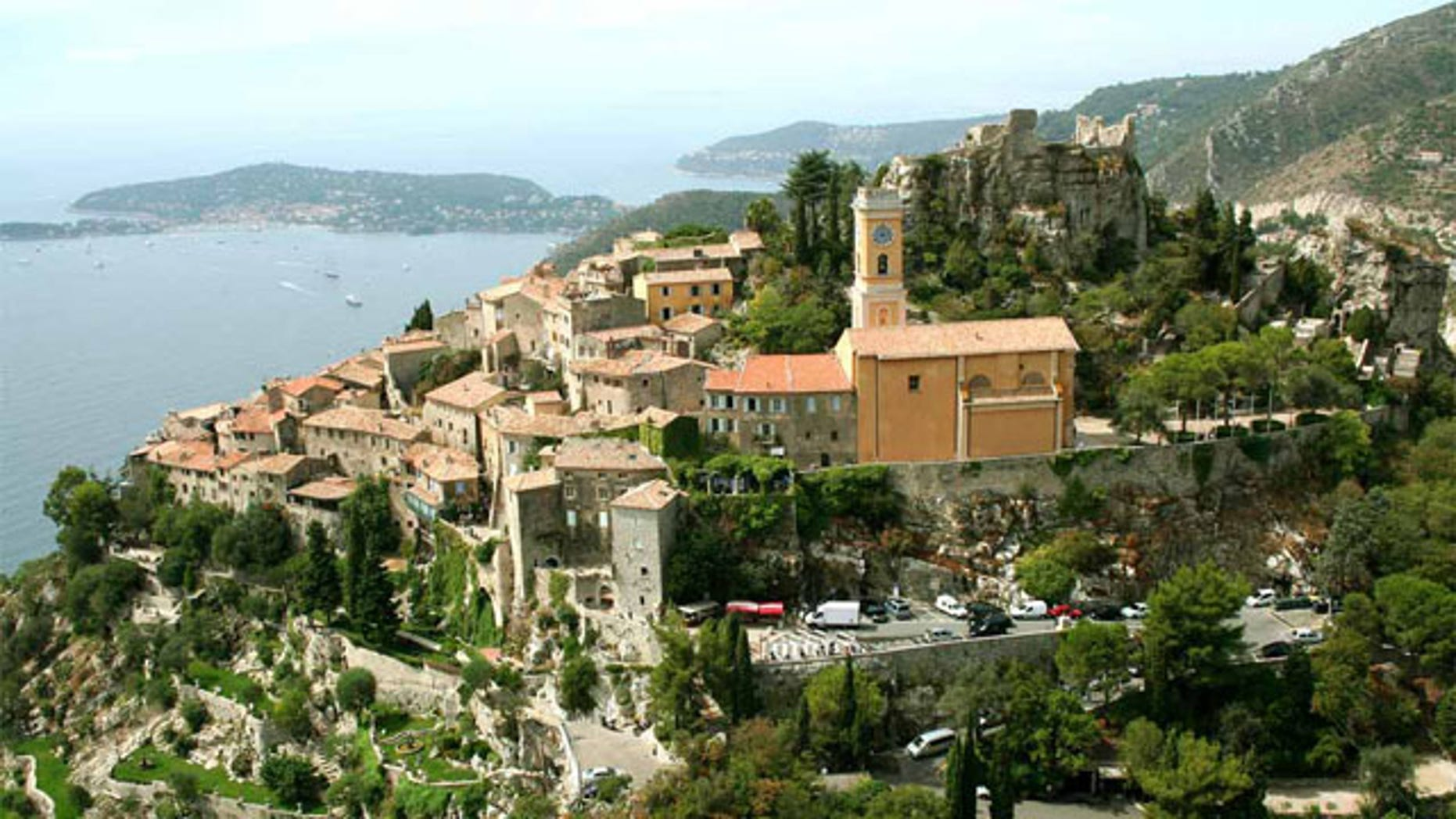 Sweeping Mediterranean views and tons of medieval charm have made the cliff-top town of Eze a popular stop on the French Riviera.