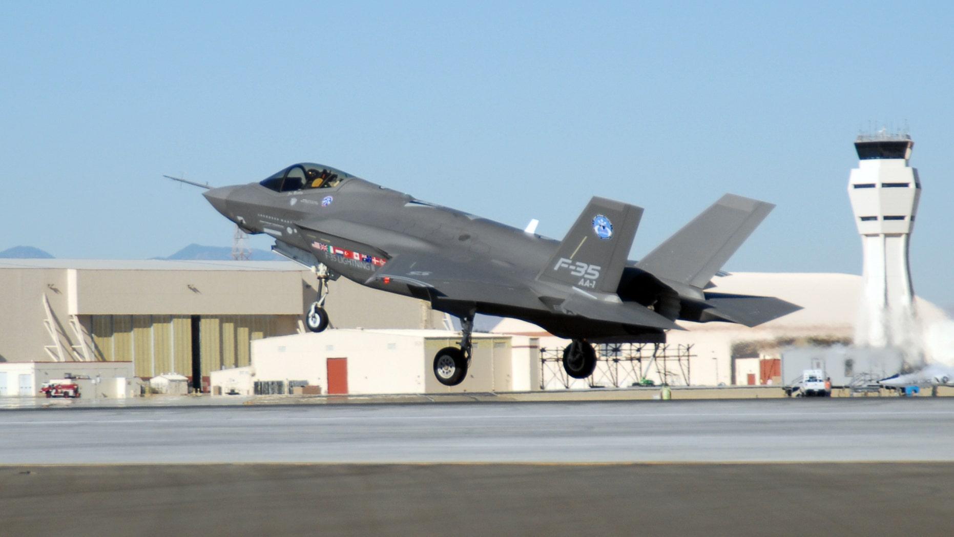 F-35 at Edwards Air Force Base
