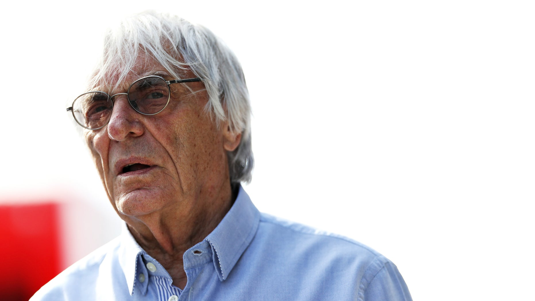 F1 supremo Bernie Ecclestone walks in the Paddock during practice for the Formula One Grand Prix of Hungary at Hungaroring on July 22, 2016 in Budapest, Hungary.  (Photo by Mark Thompson/Getty Images)